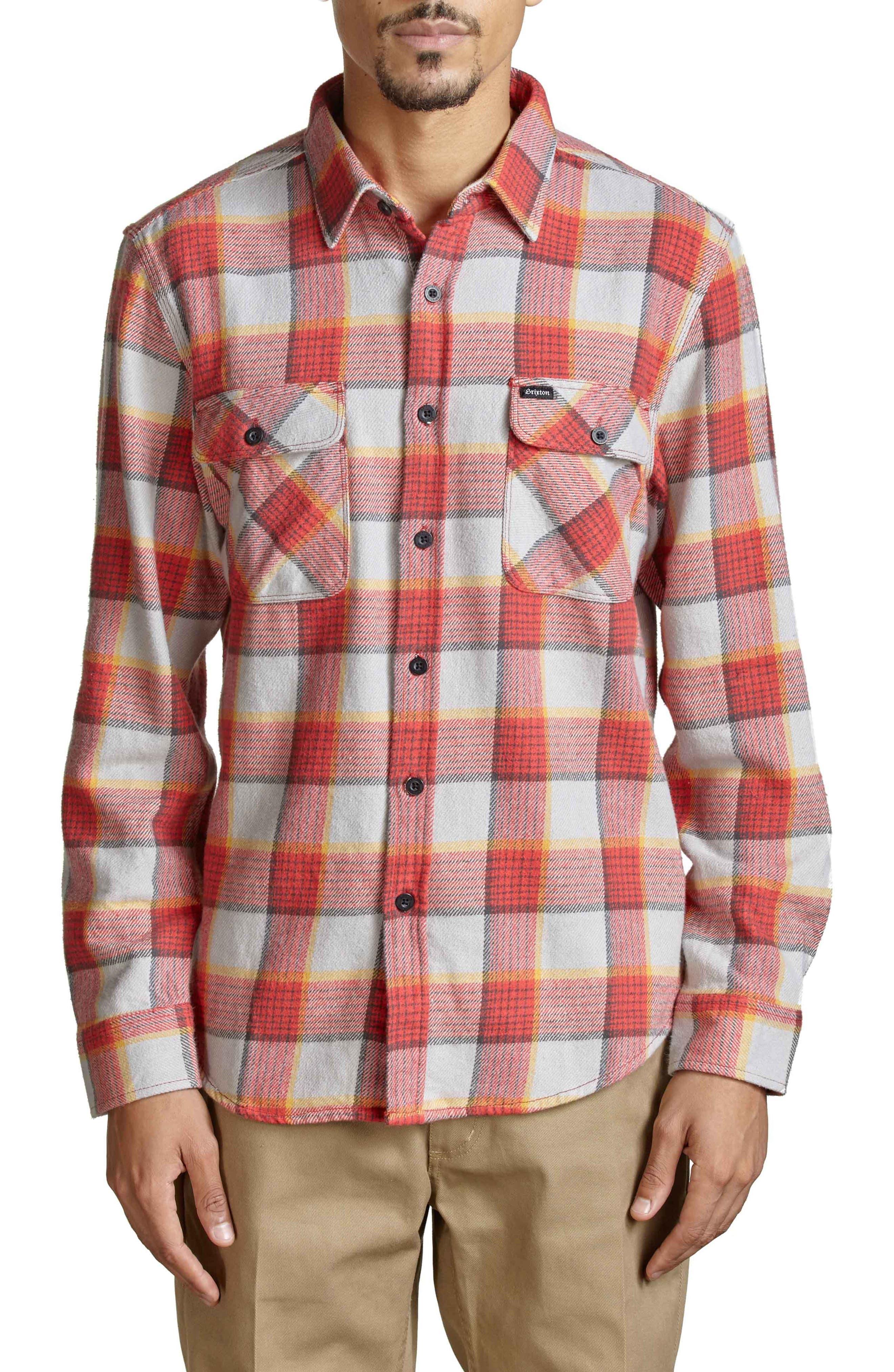 Brixton Bowery Flannel Shirt