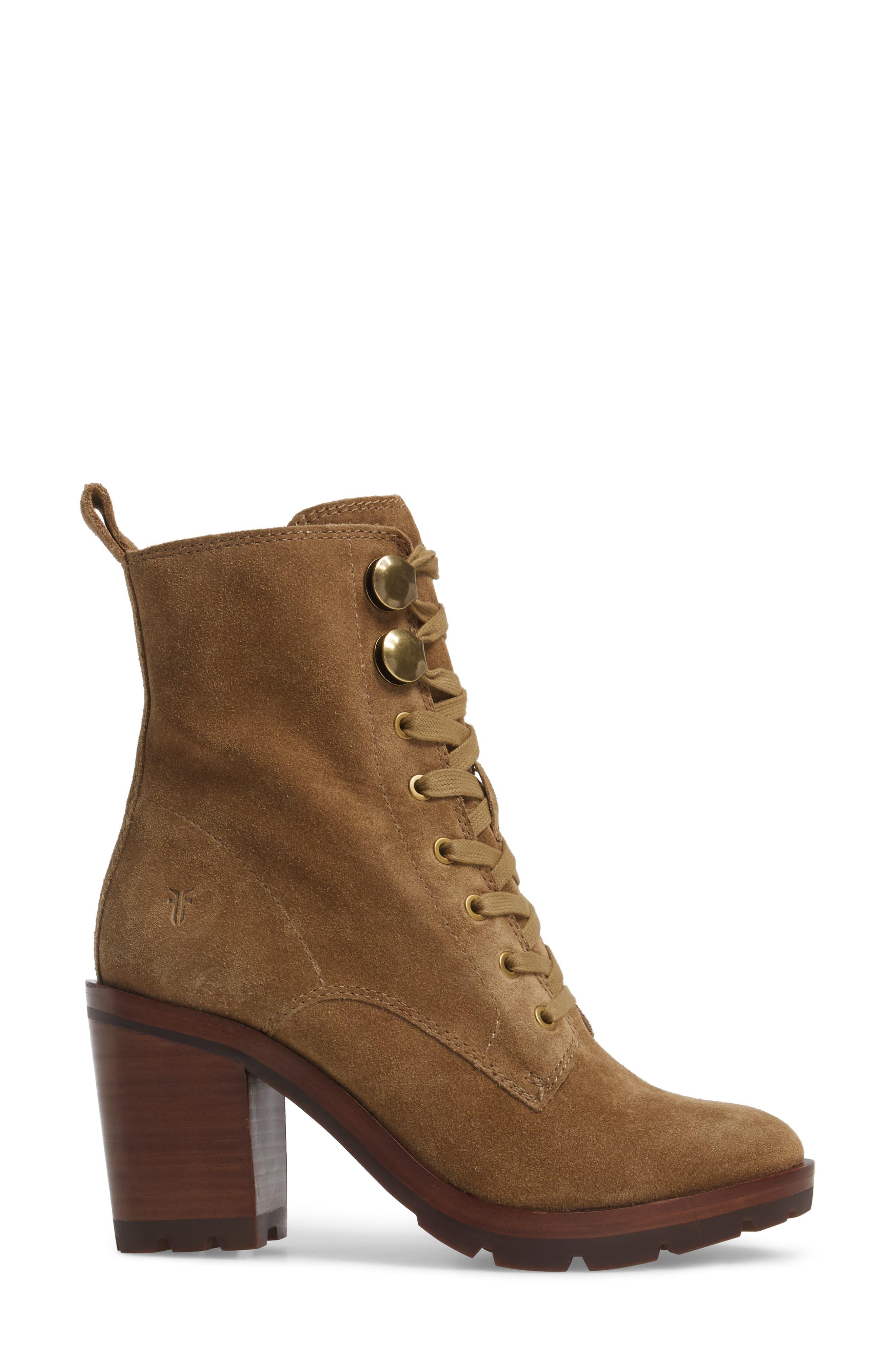 Alternate Image 3  - Frye Myra Lug Combat Boot (Women)
