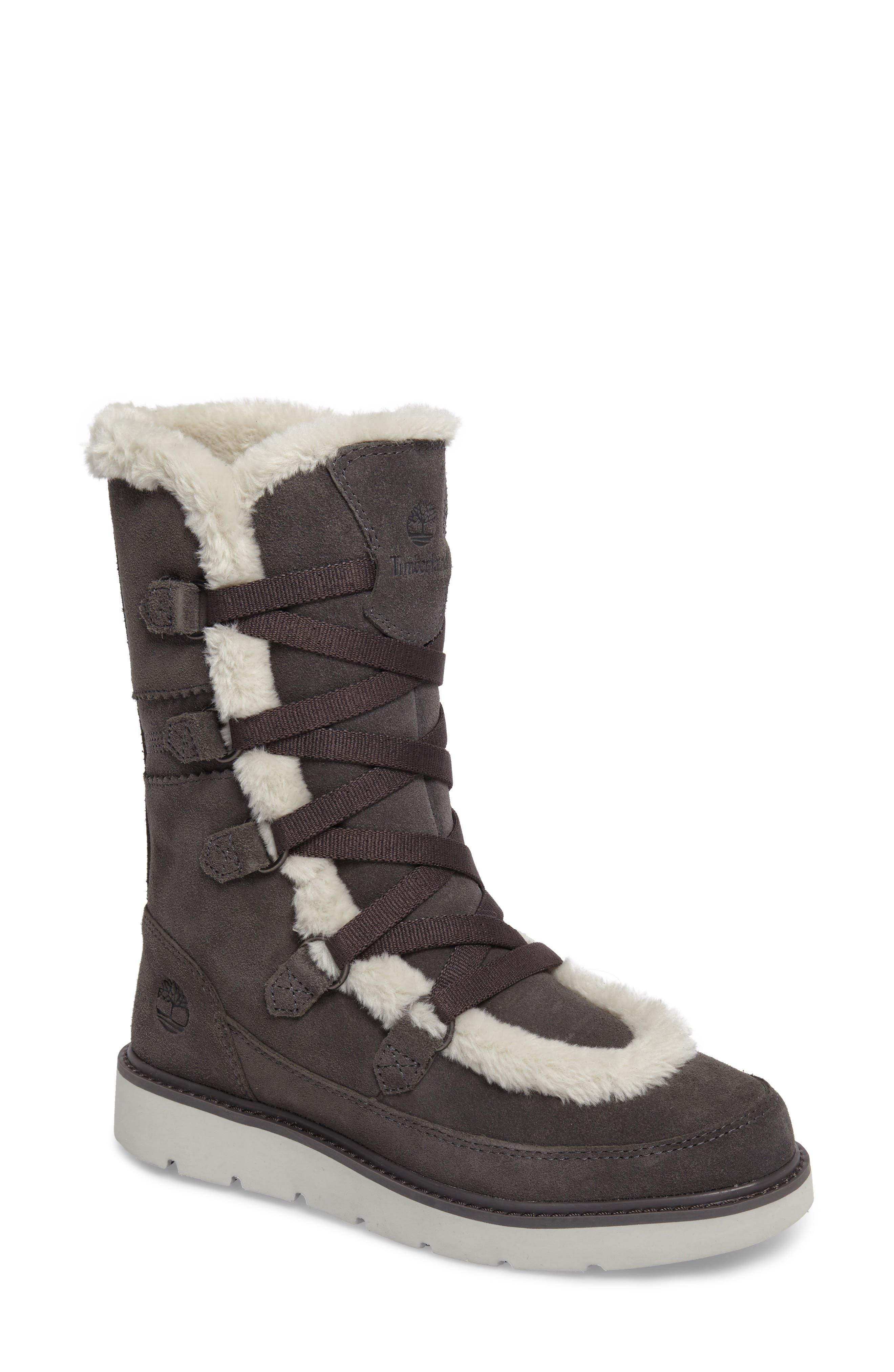 Timberland Kenniston Faux Fur Water Resistant Mukluk Boot (Women)