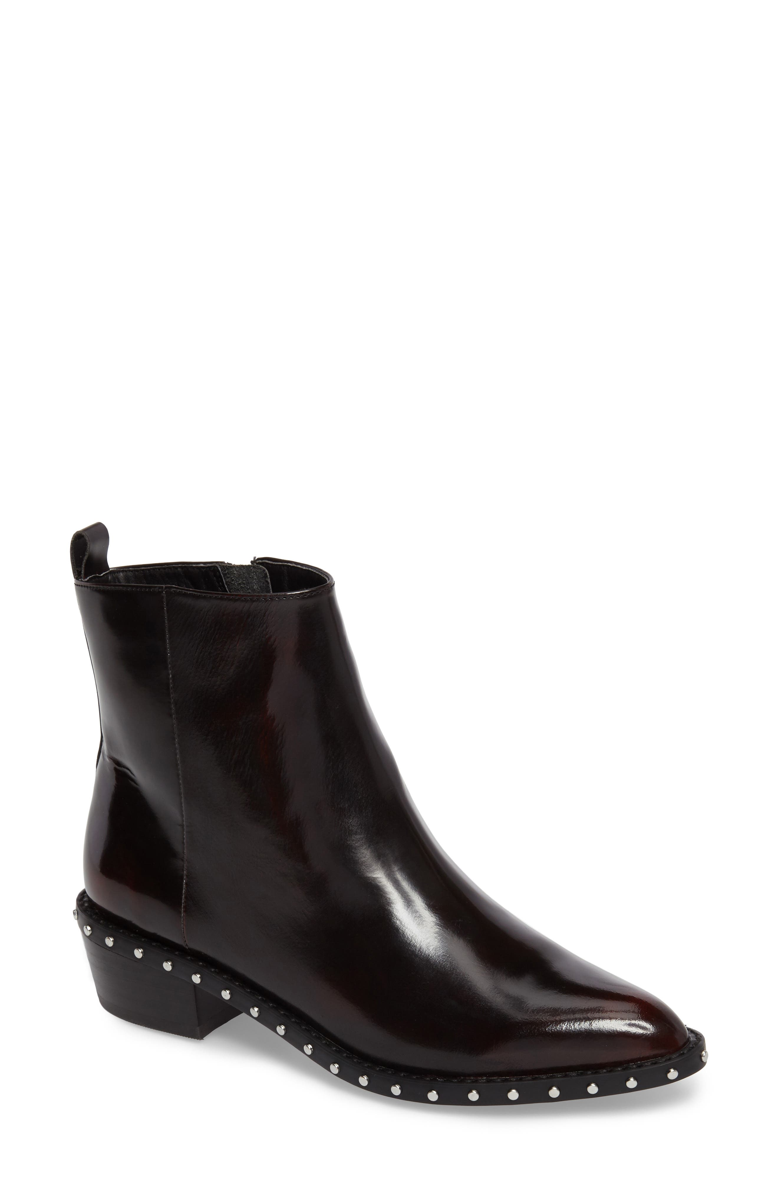 Linea Paolo Tailor Studded Bootie (Women)