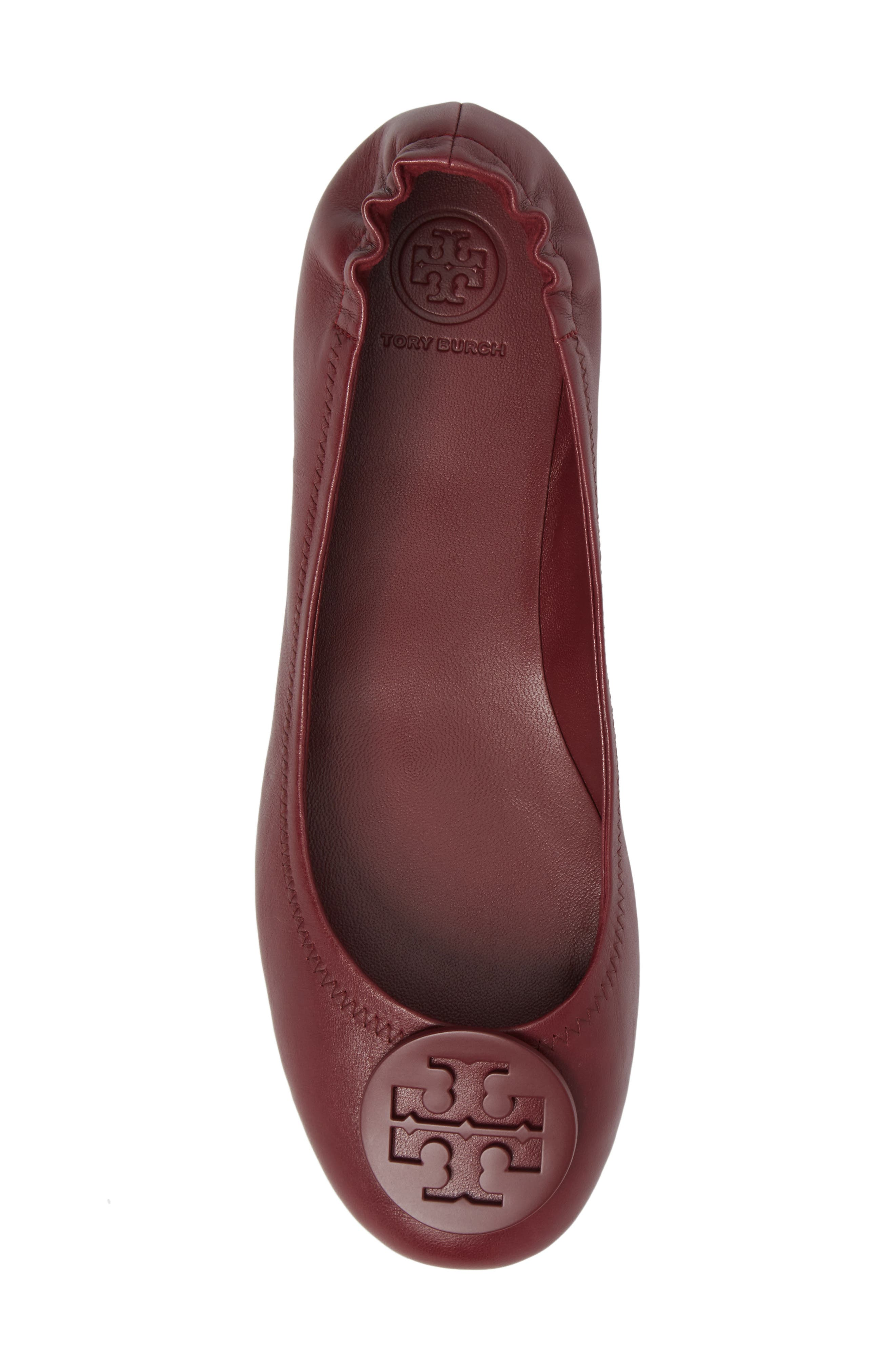 Alternate Image 5  - Tory Burch 'Minnie' Travel Ballet Flat (Women)
