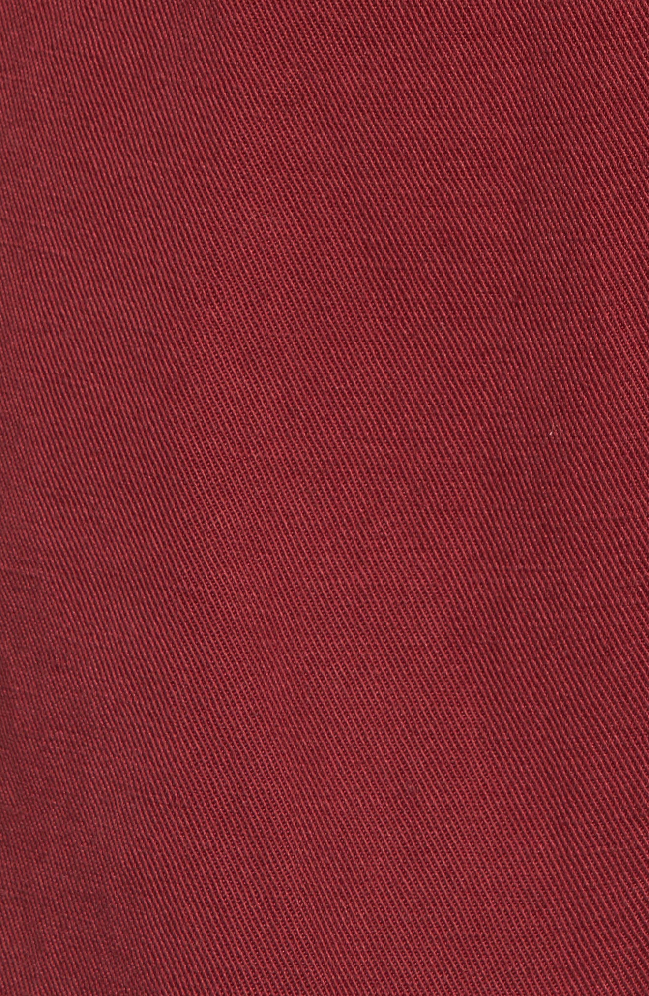 Maverick Military Jacket,                             Alternate thumbnail 5, color,                             Oxblood