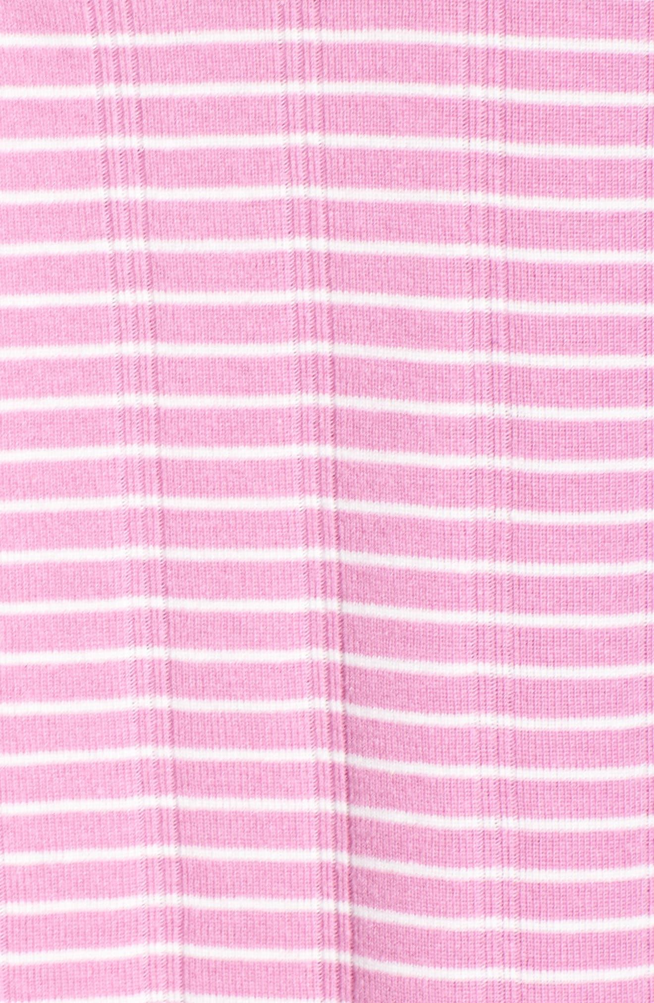 Alternate Image 6  - Lauren Ralph Lauren Stripe Henley Sleep Shirt