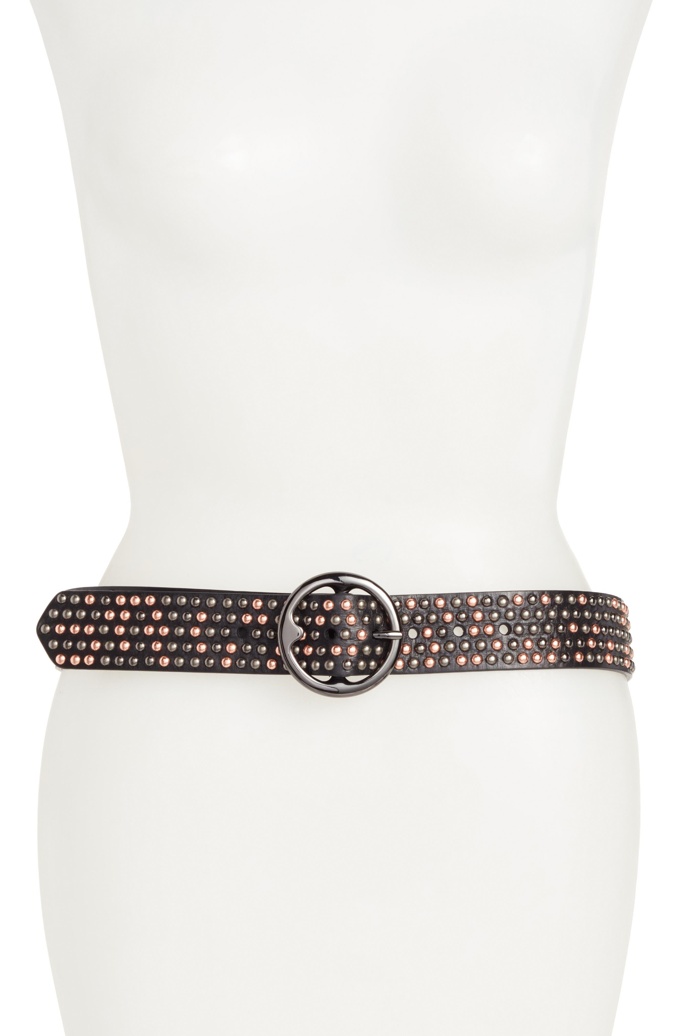 Treasure & Bond Studded Leather Belt
