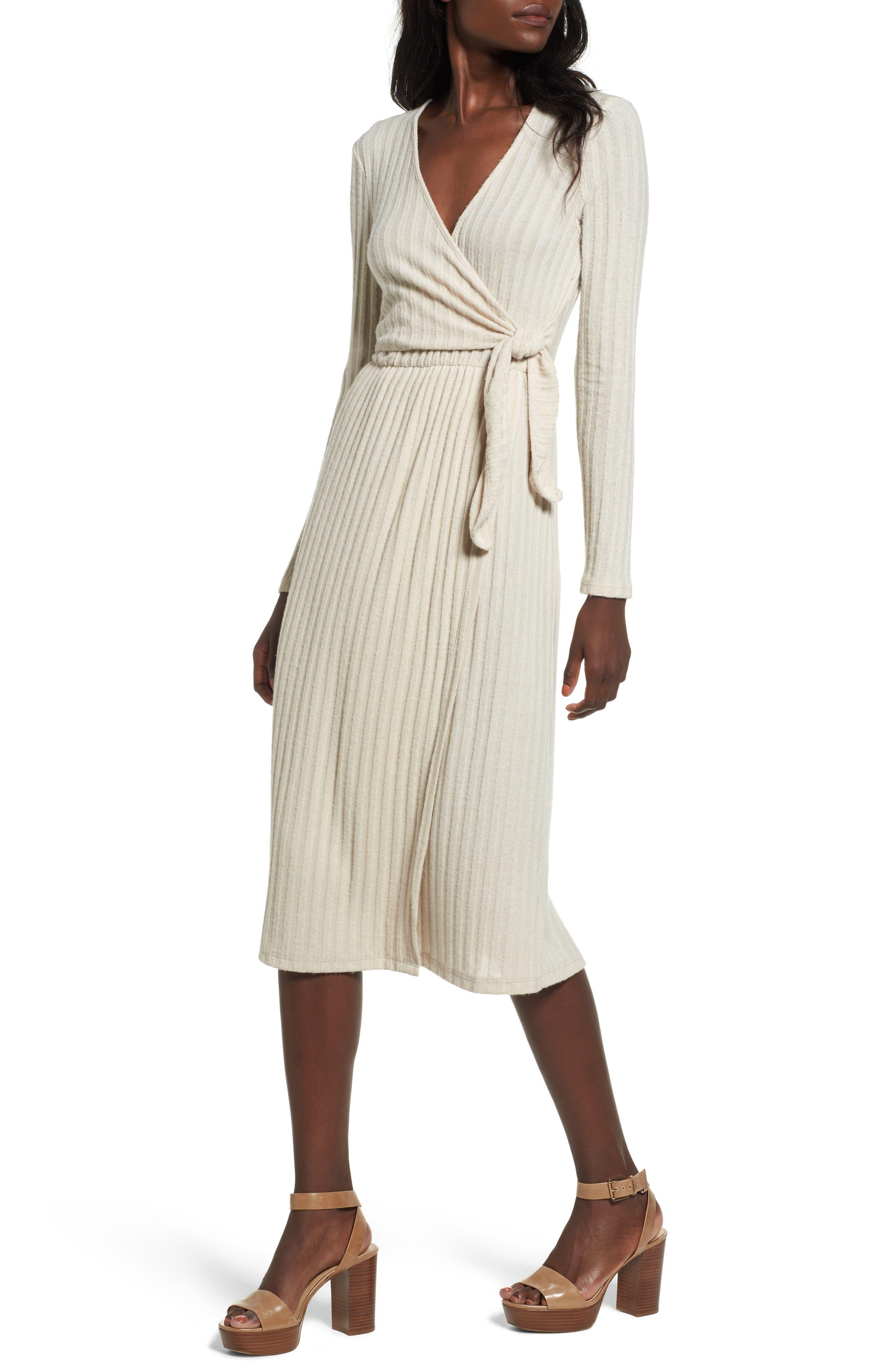 Lush Rib Knit Dress
