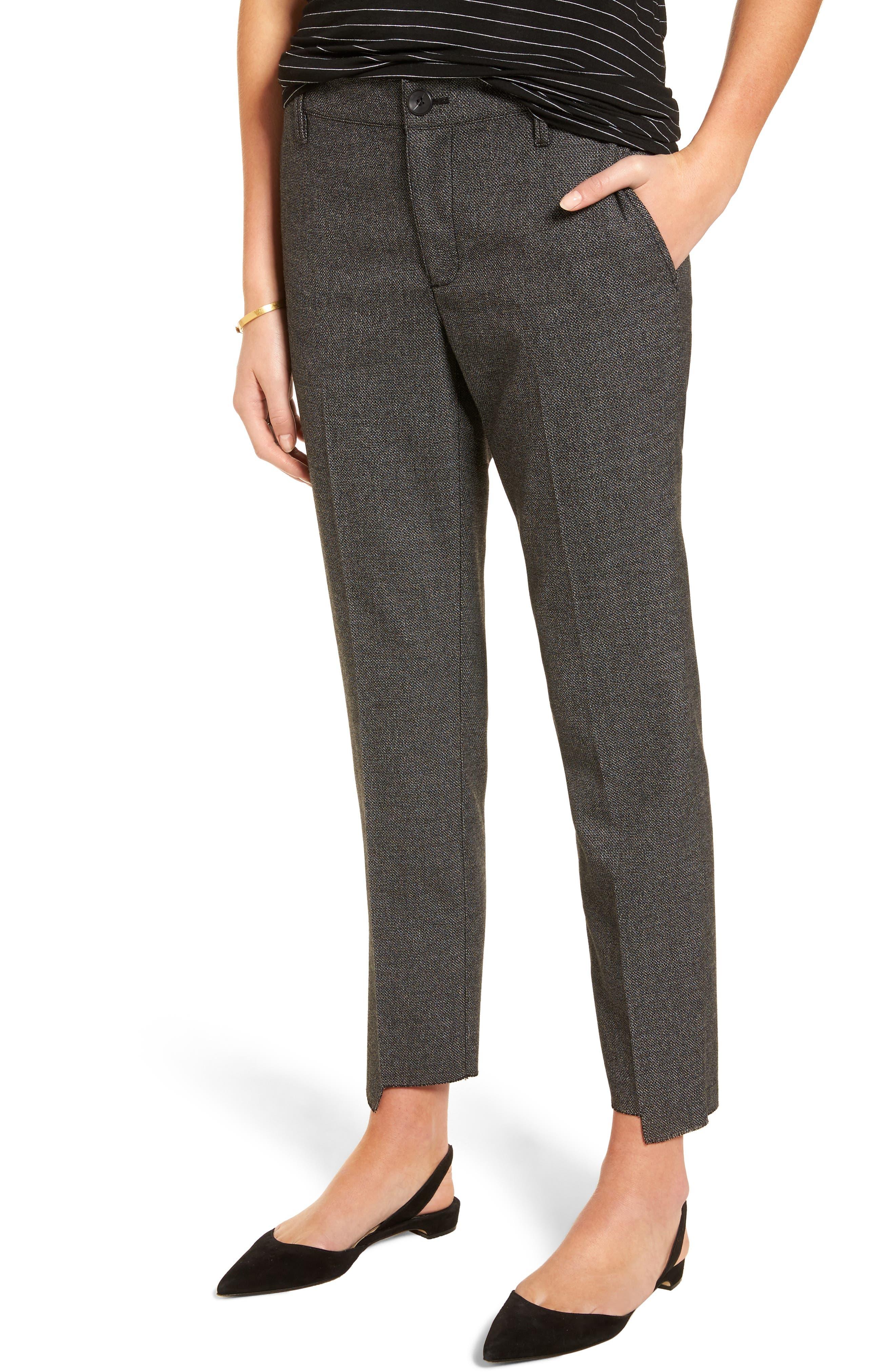 Tresure & Bond Crop Menswear Pants