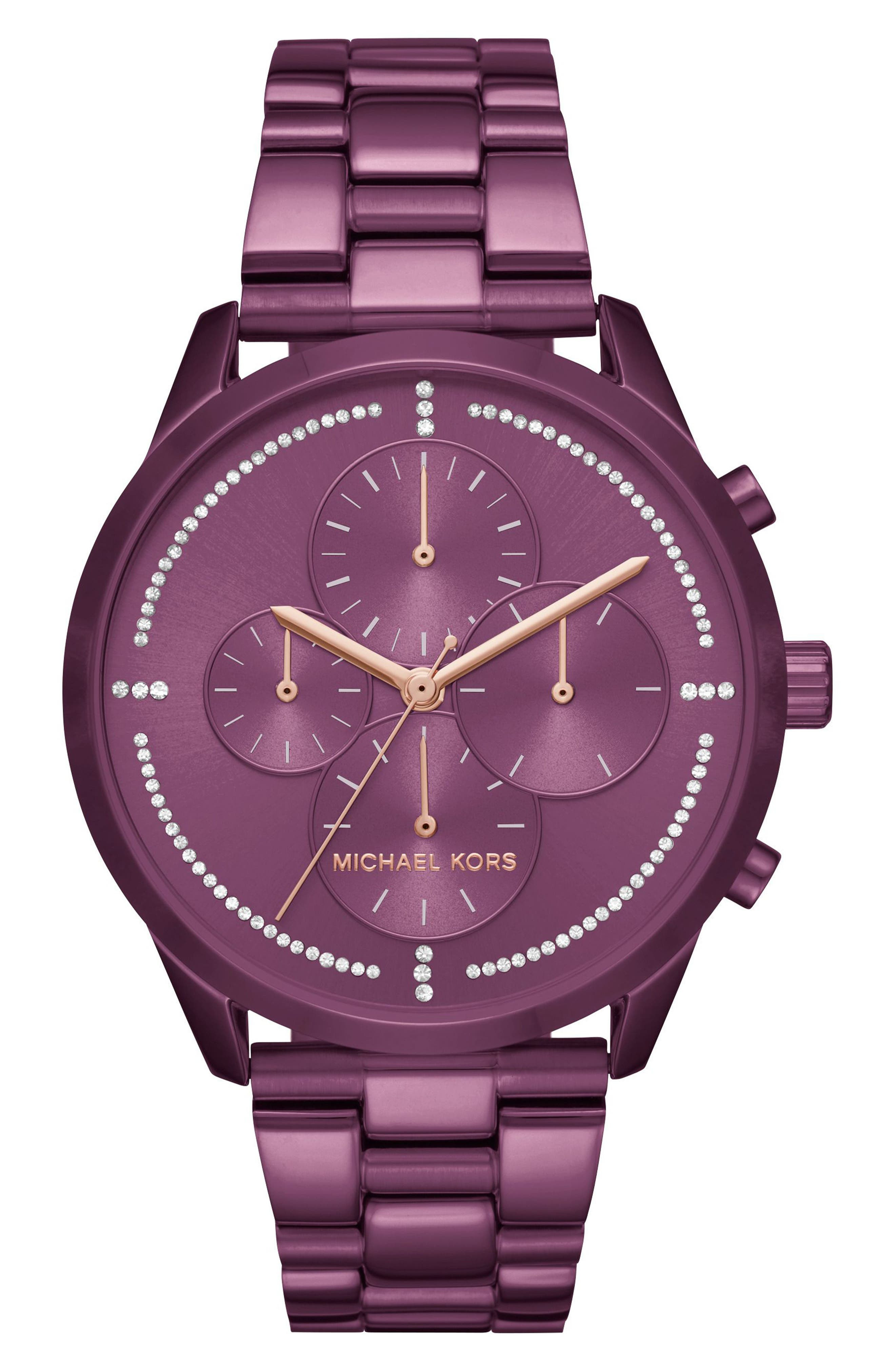 Main Image - Michael Kors Slater Chronograph Bracelet Watch, 40mm