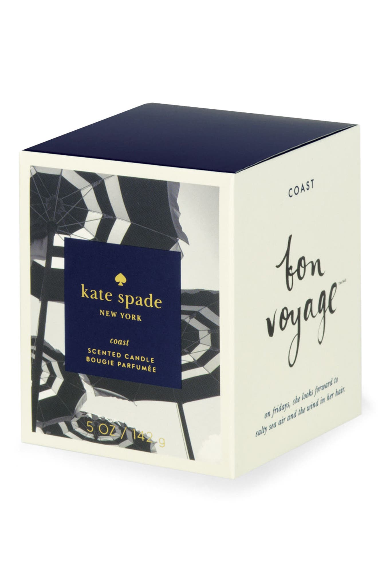 Alternate Image 2  - kate spade new york medium scented candle