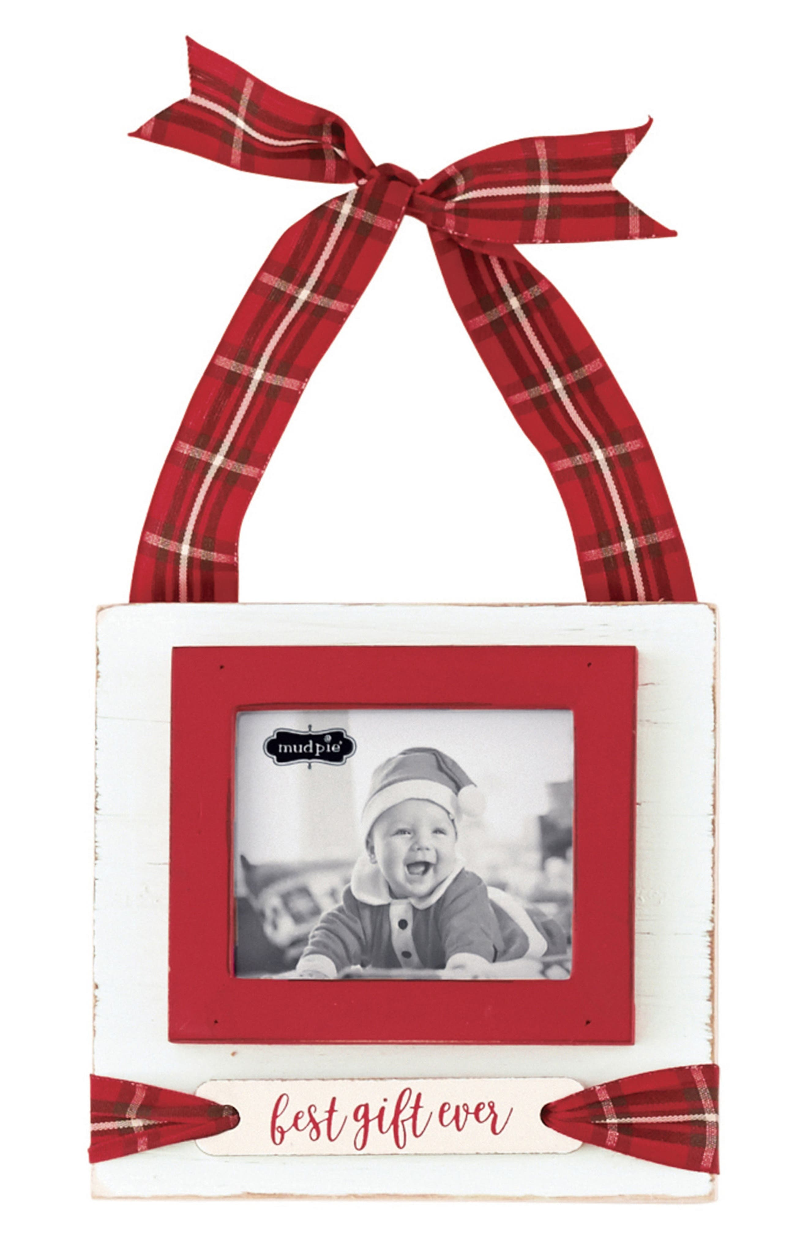 Mud Pie Best Gift Ever Frame Ornament