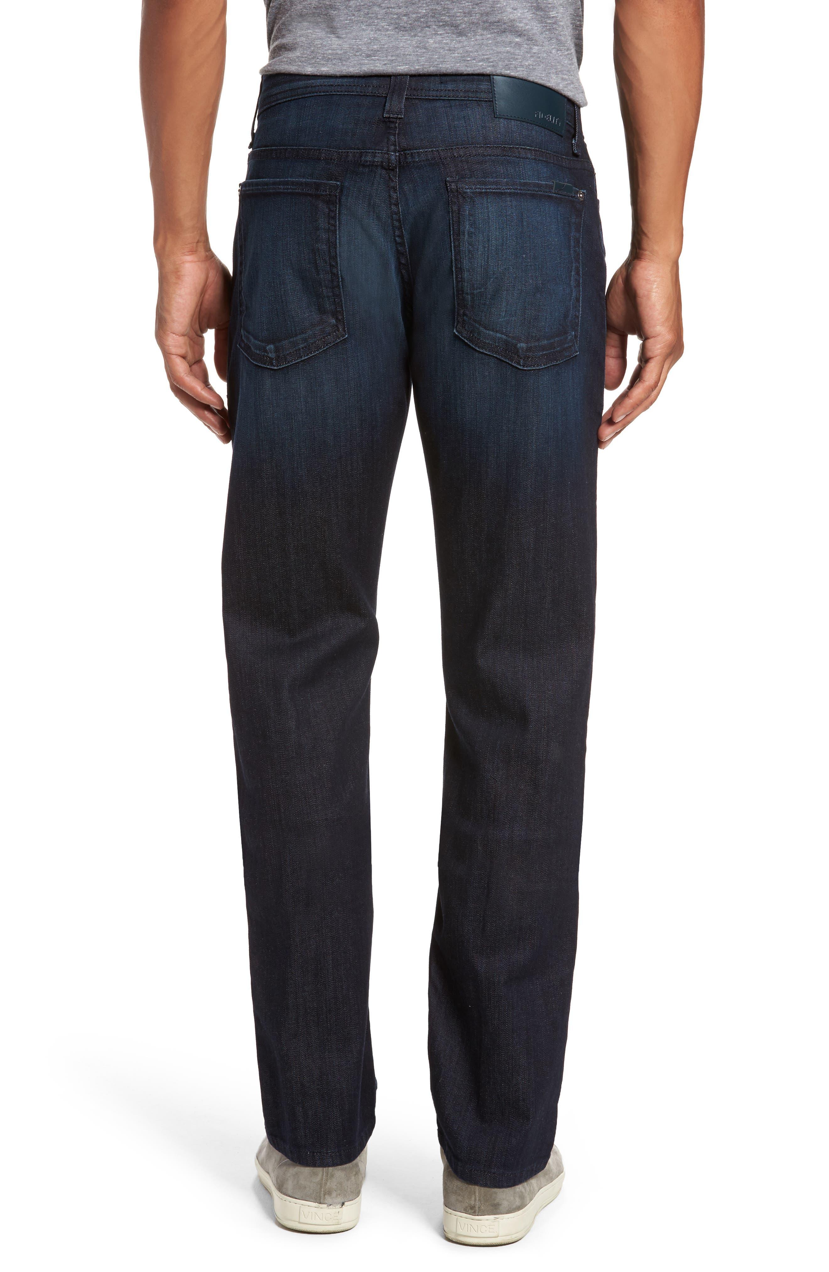 Alternate Image 2  - Fidelity Denim Jimmy Slim Straight Fit Jeans (Brooklyn Blue)