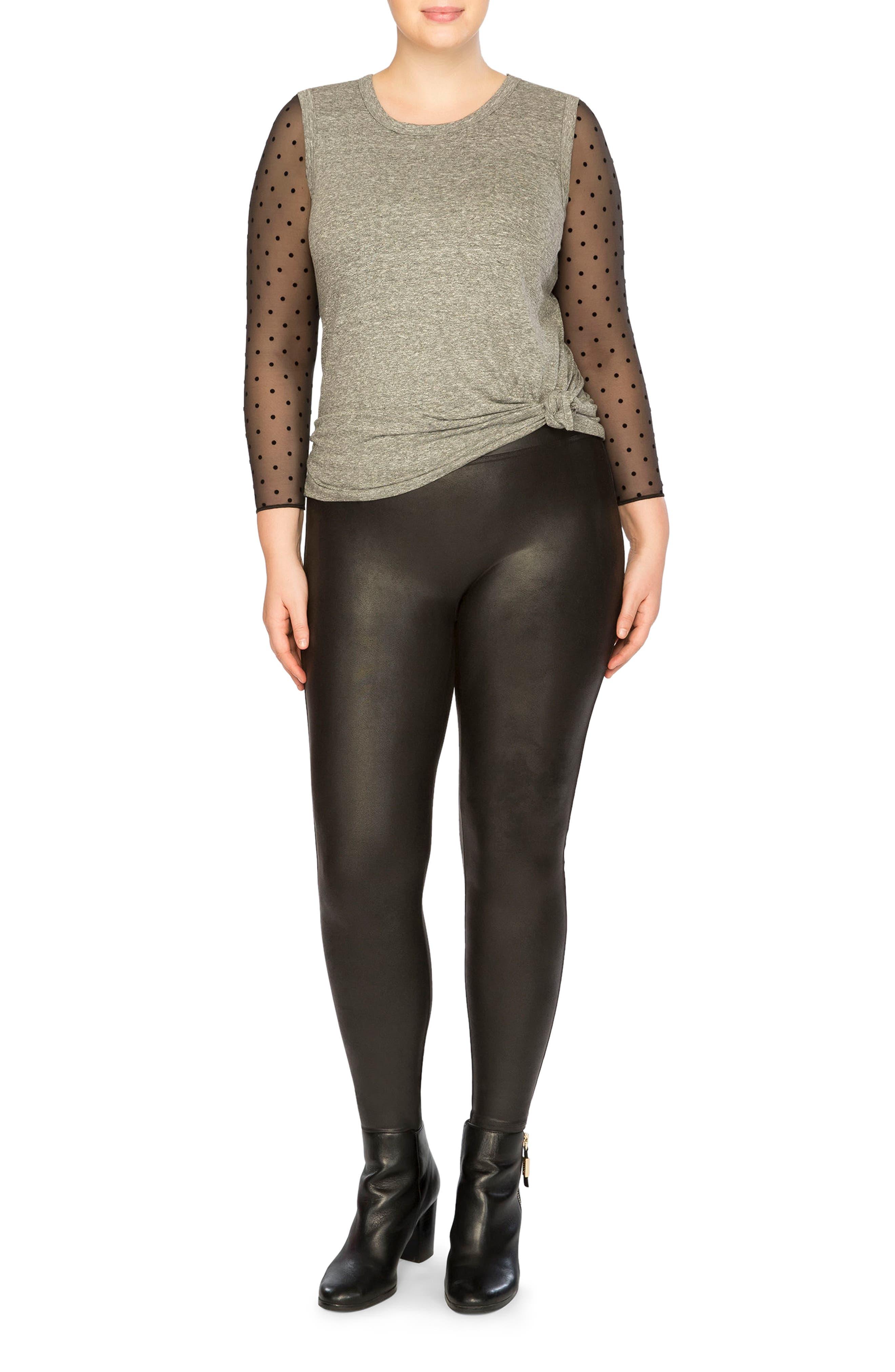Alternate Image 6  - SPANX® Thong Bodysuit (Plus Size)