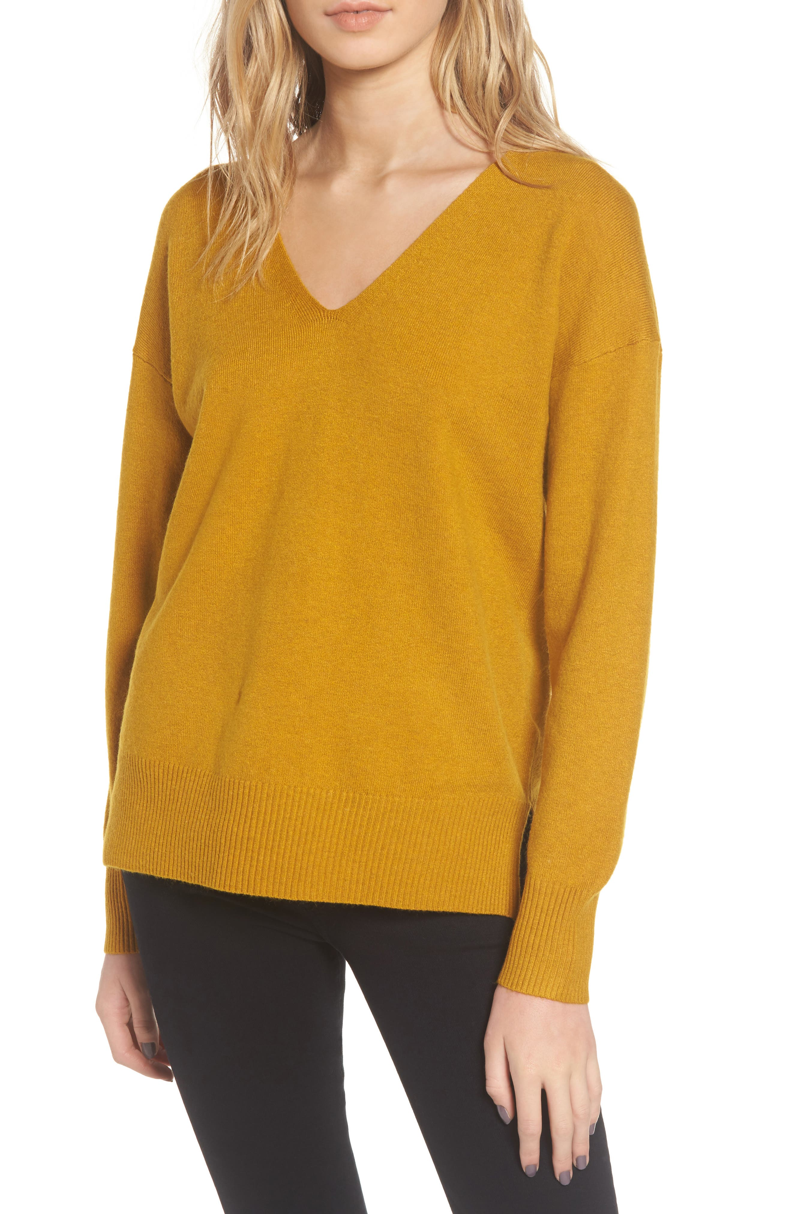 French Connection Della Vhari V-Neck Sweater
