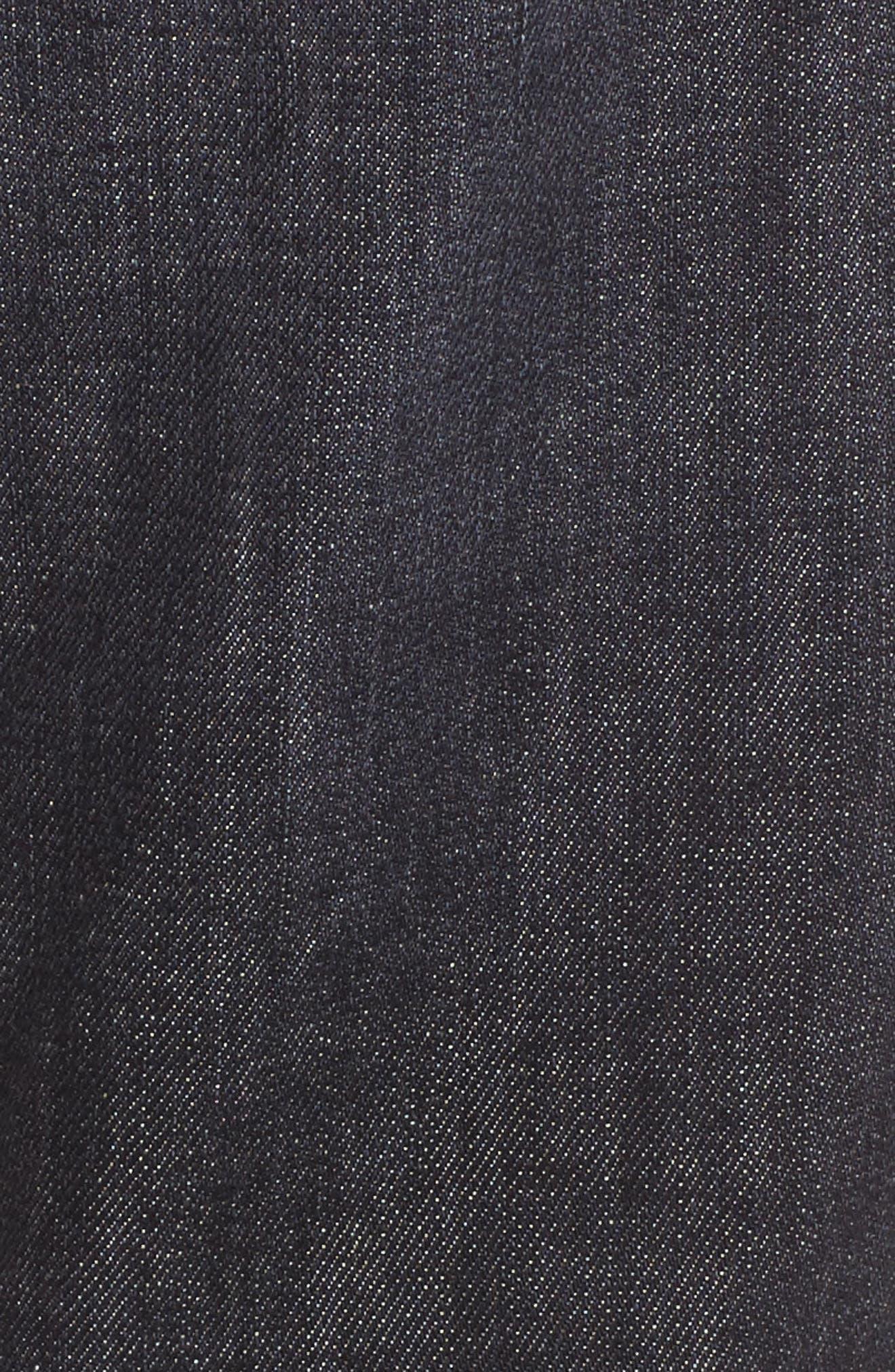 Alternate Image 5  - Hudson Jeans Blinder Biker Moto Skinny Fit Jeans (Damage)