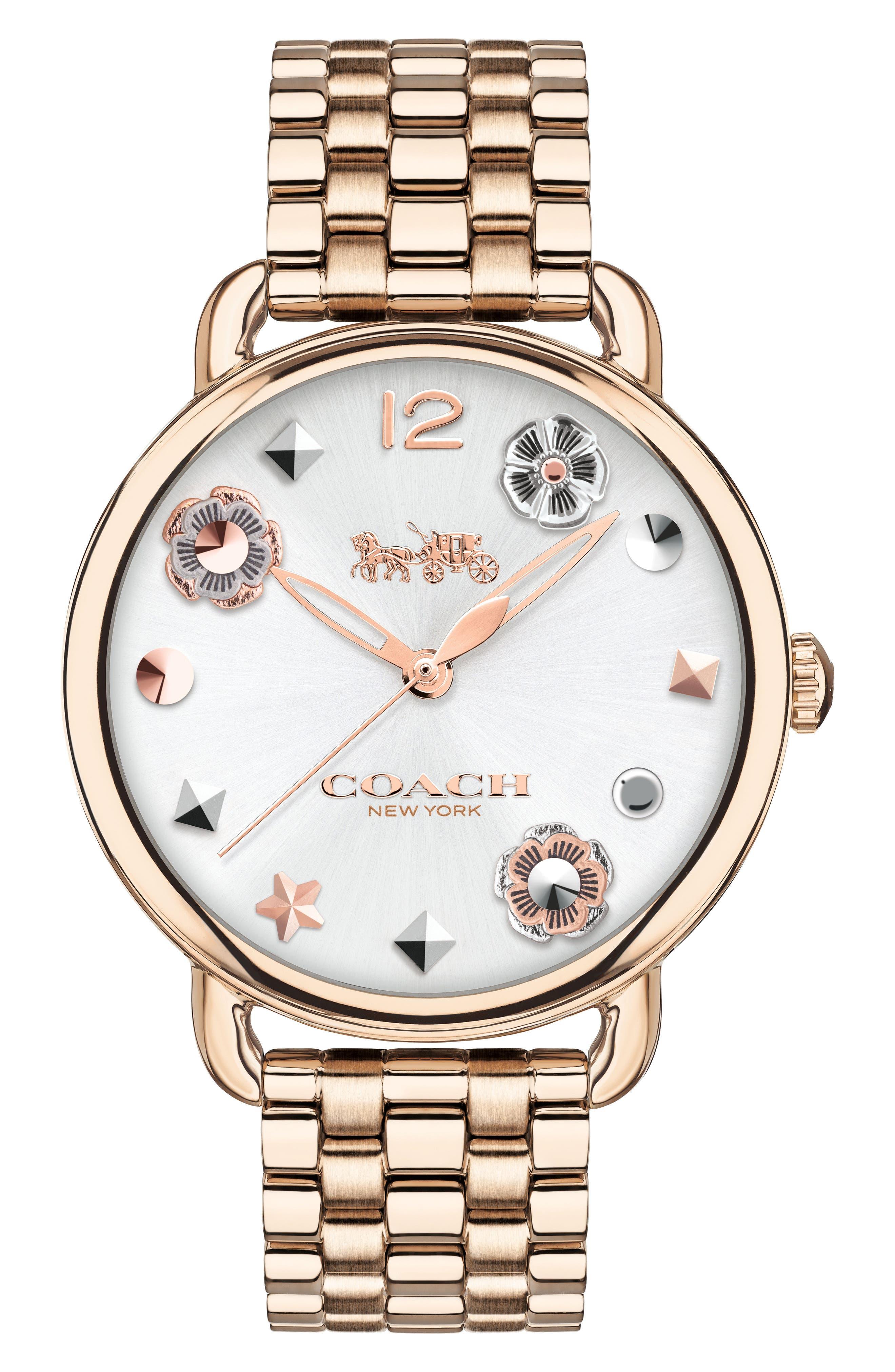 Main Image - COACH Delancey Bracelet Watch, 36mm