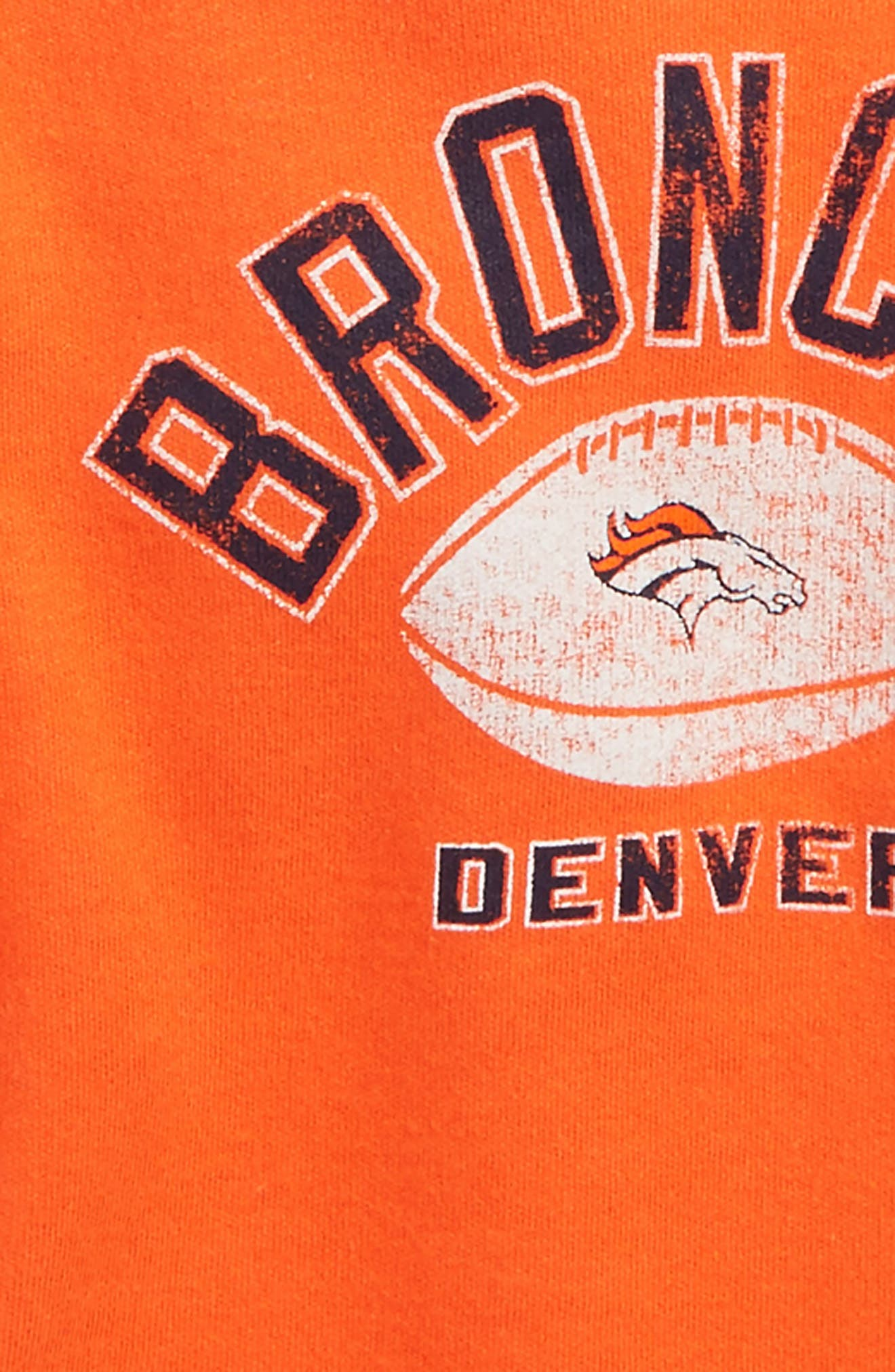 NFL Logo Denver Broncos 2-Pack Bodysuits,                             Alternate thumbnail 2, color,                             Broncos