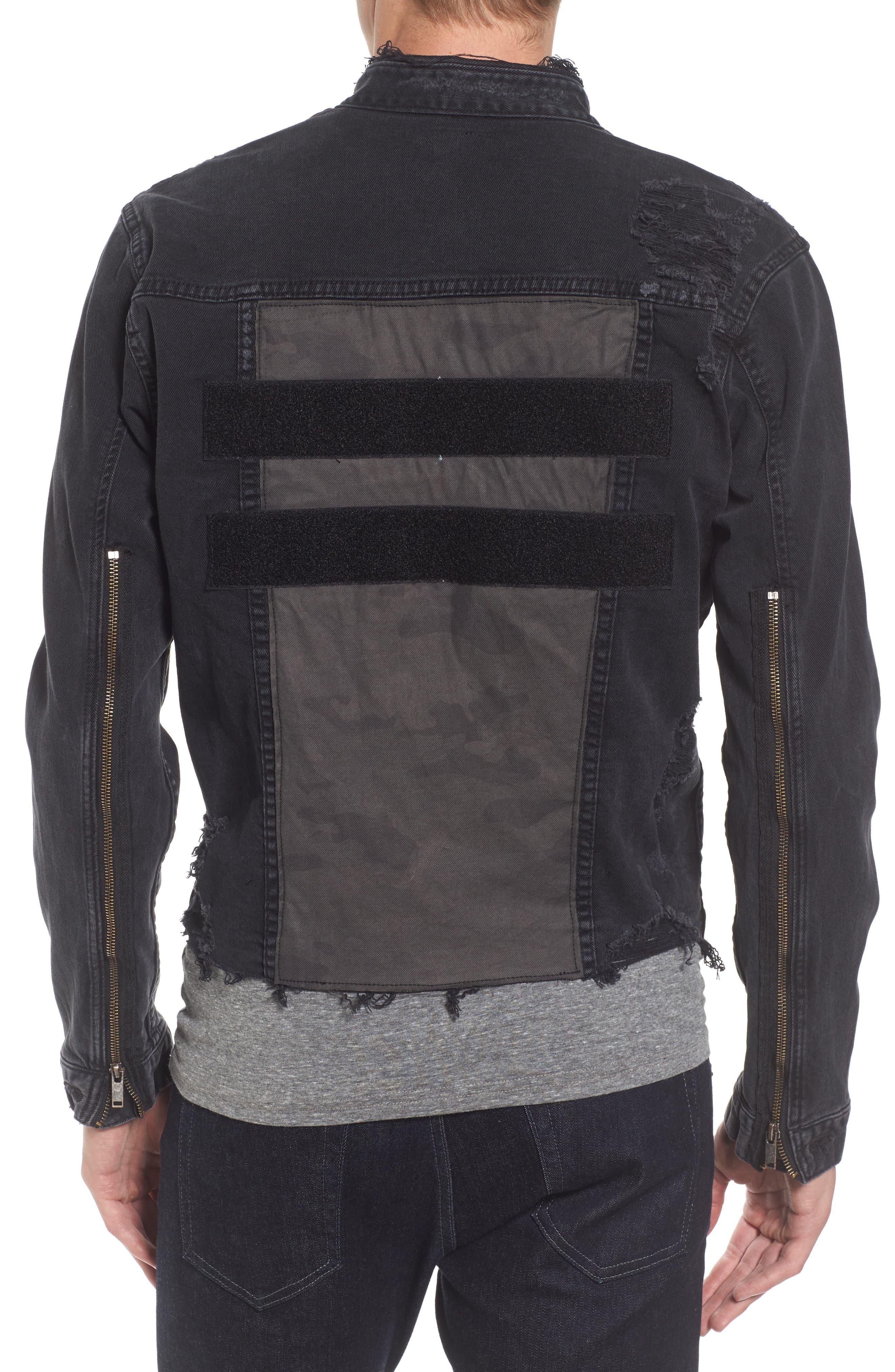 Alternate Image 2  - Hudson Jeans Blaine Denim Jacket