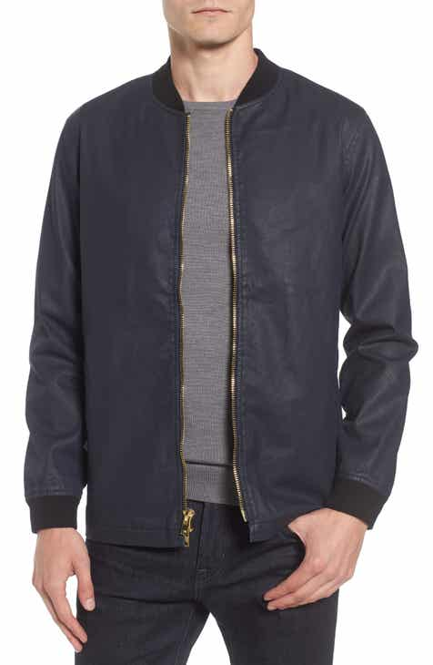 Tunellus Coated Zip Front Jacket