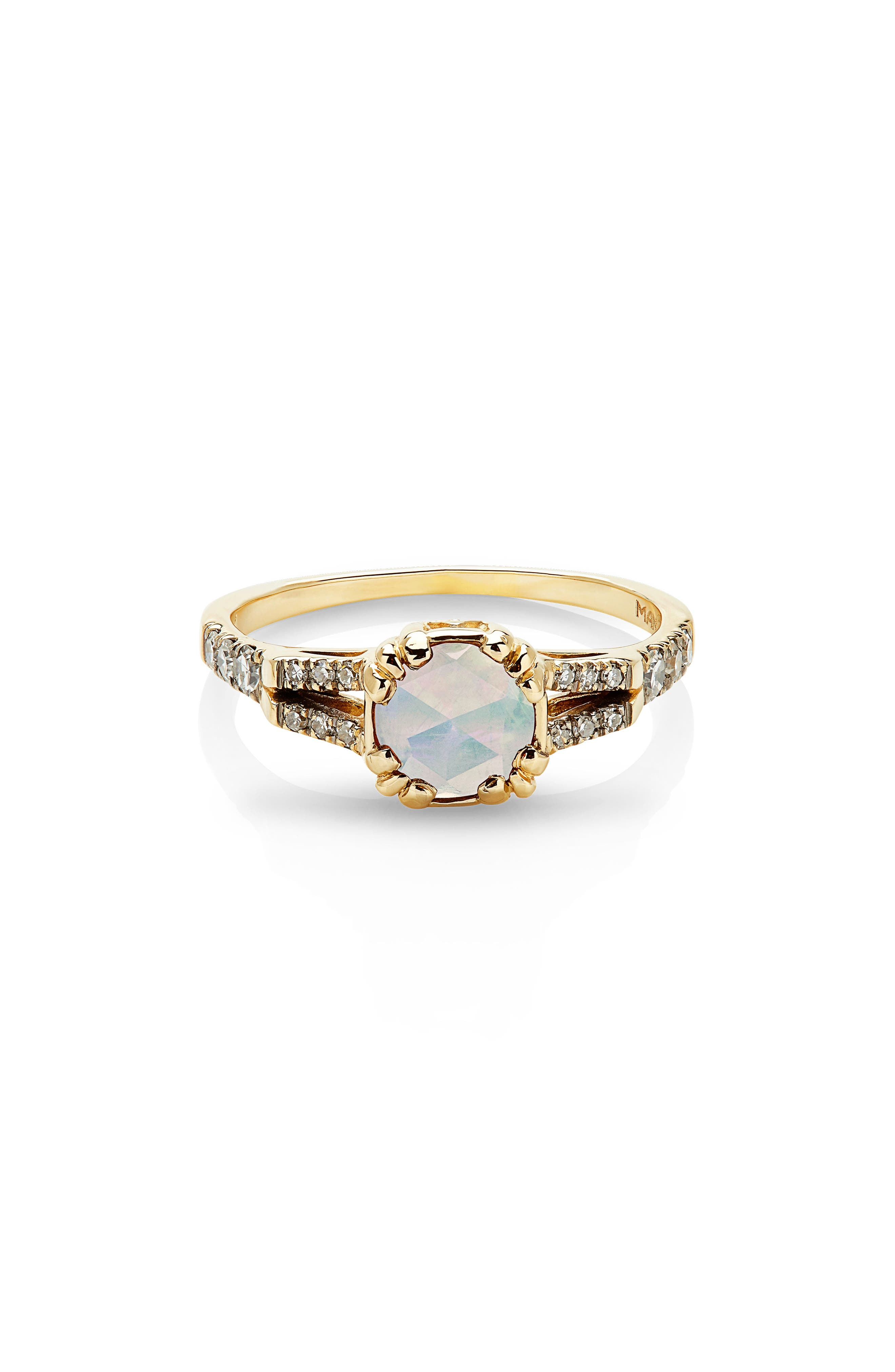 Beloved Solitaire Ring,                         Main,                         color, Yellow Gold