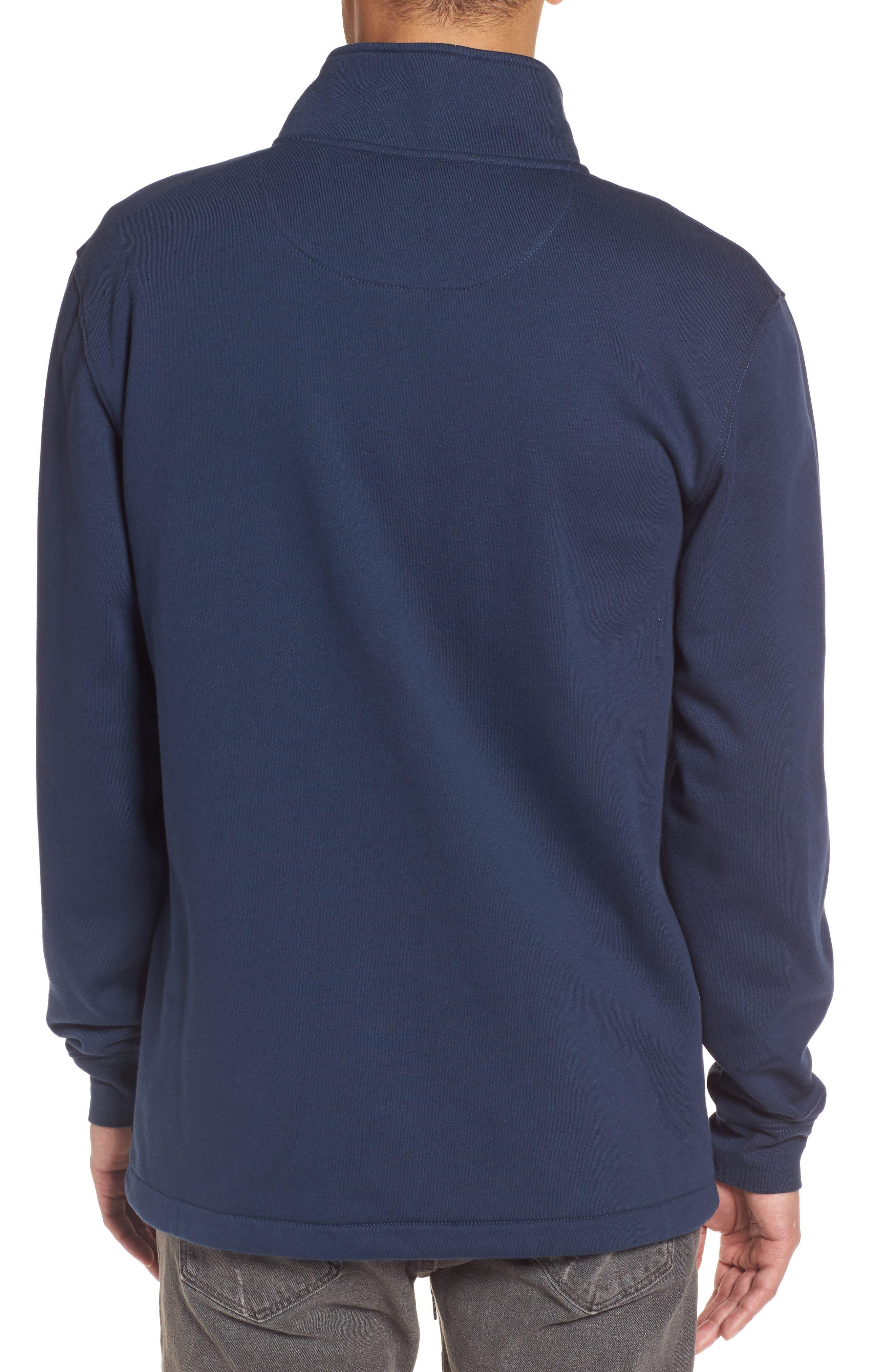 Alternate Image 2  - Vans Fifty Fifty Half Zip Pullover