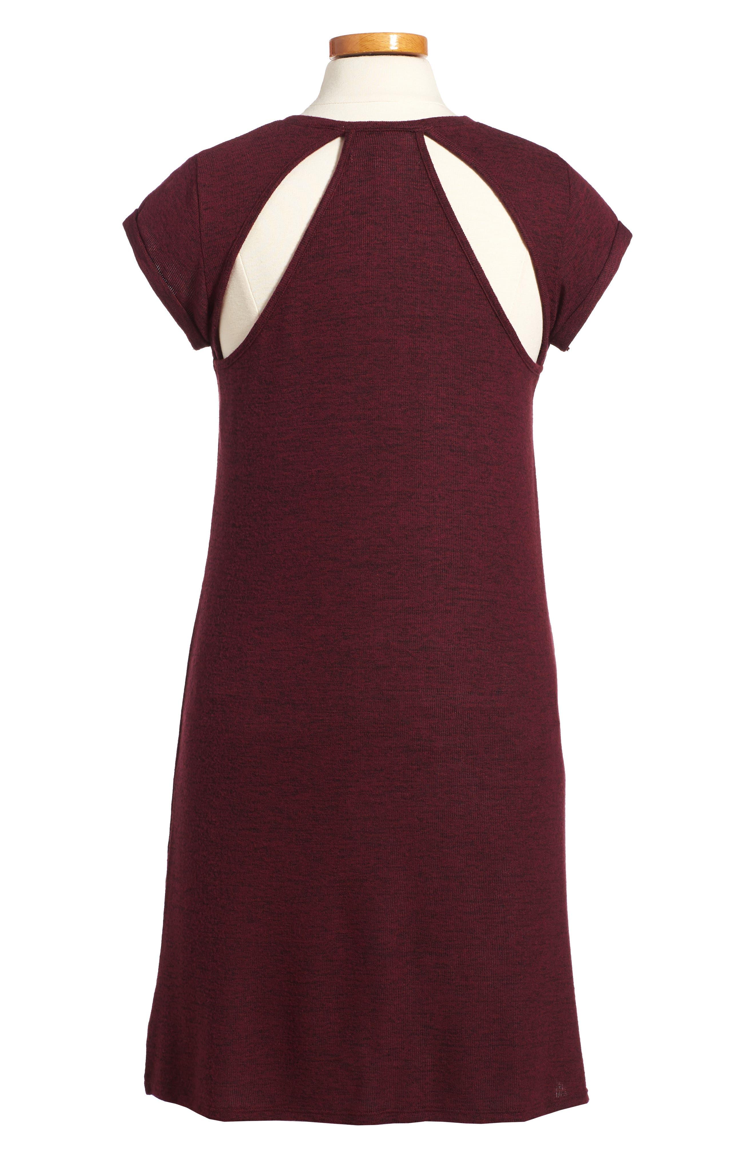 Alternate Image 2  - Treasure & Bond Sneaker Cutout Dress (Big Girls)