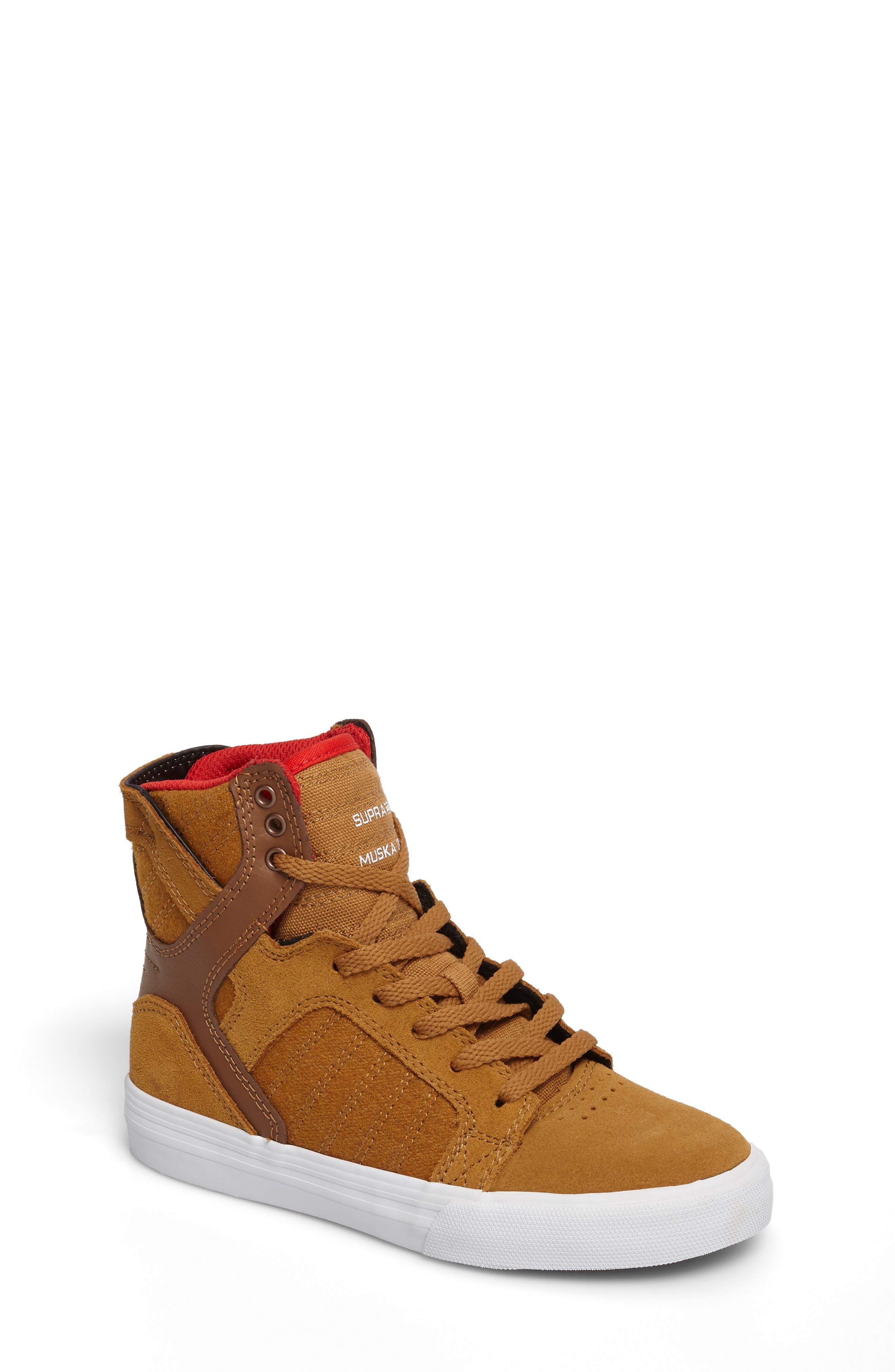 Supra Skytop High Top Sneaker (Toddler, Little Kid & Big Kid)