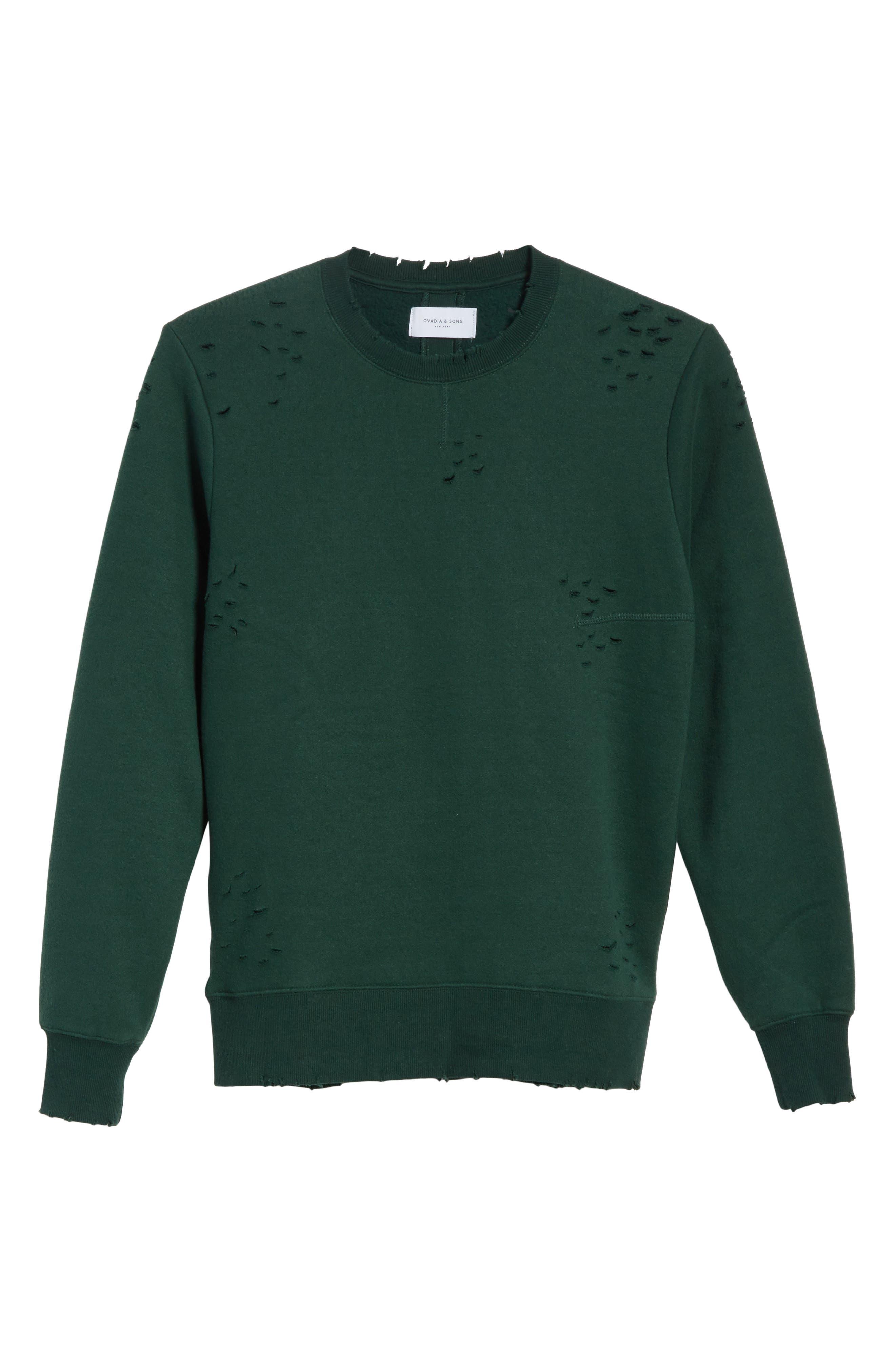 Alternate Image 6  - OVADIA & SONS Crewneck Sweater