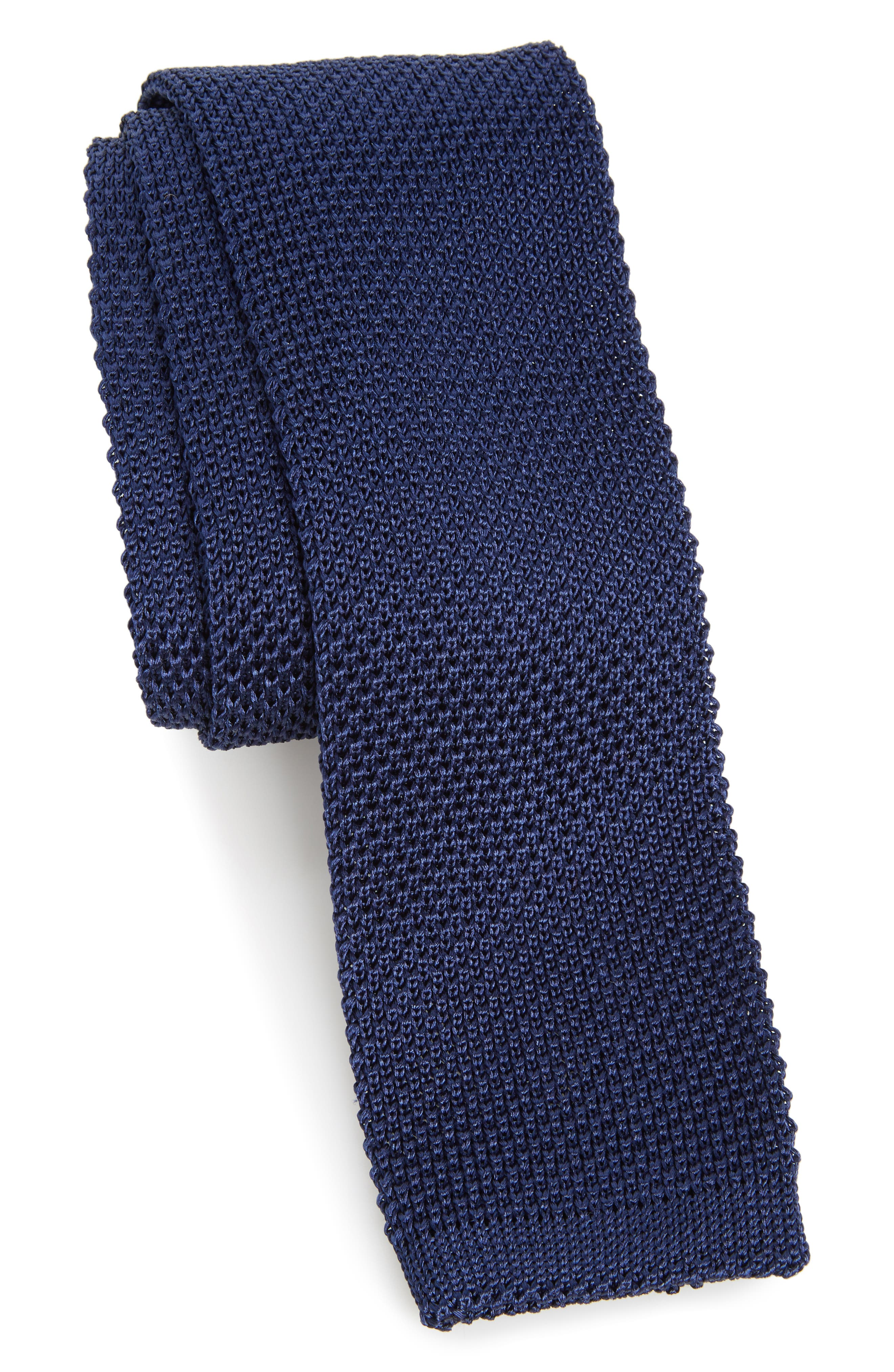 Main Image - Nordstrom Men's Shop Stuart Silk Knit Tie