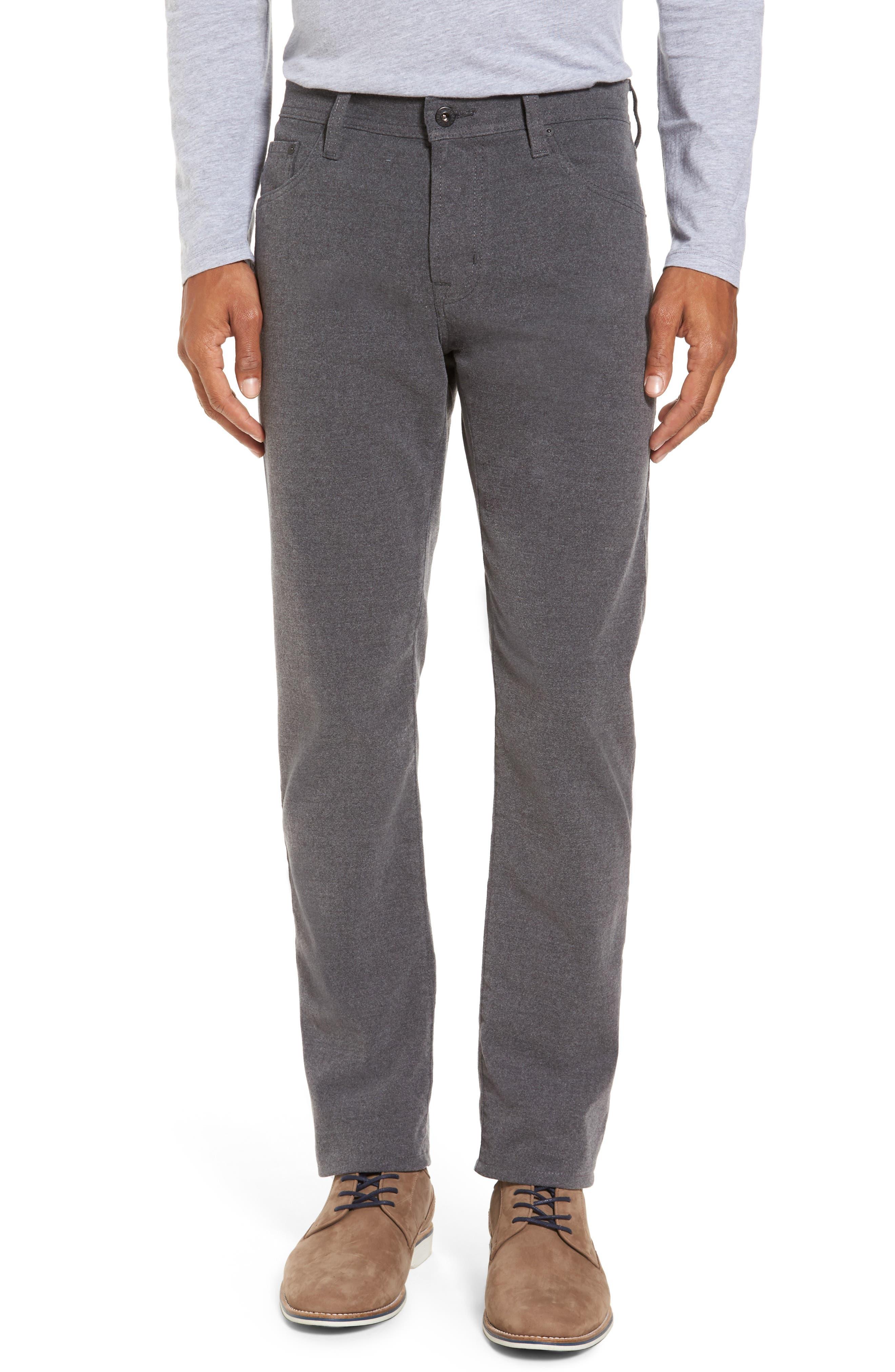 Tellis Slim Fit Five-Pocket Pants,                         Main,                         color, Dark Ridge