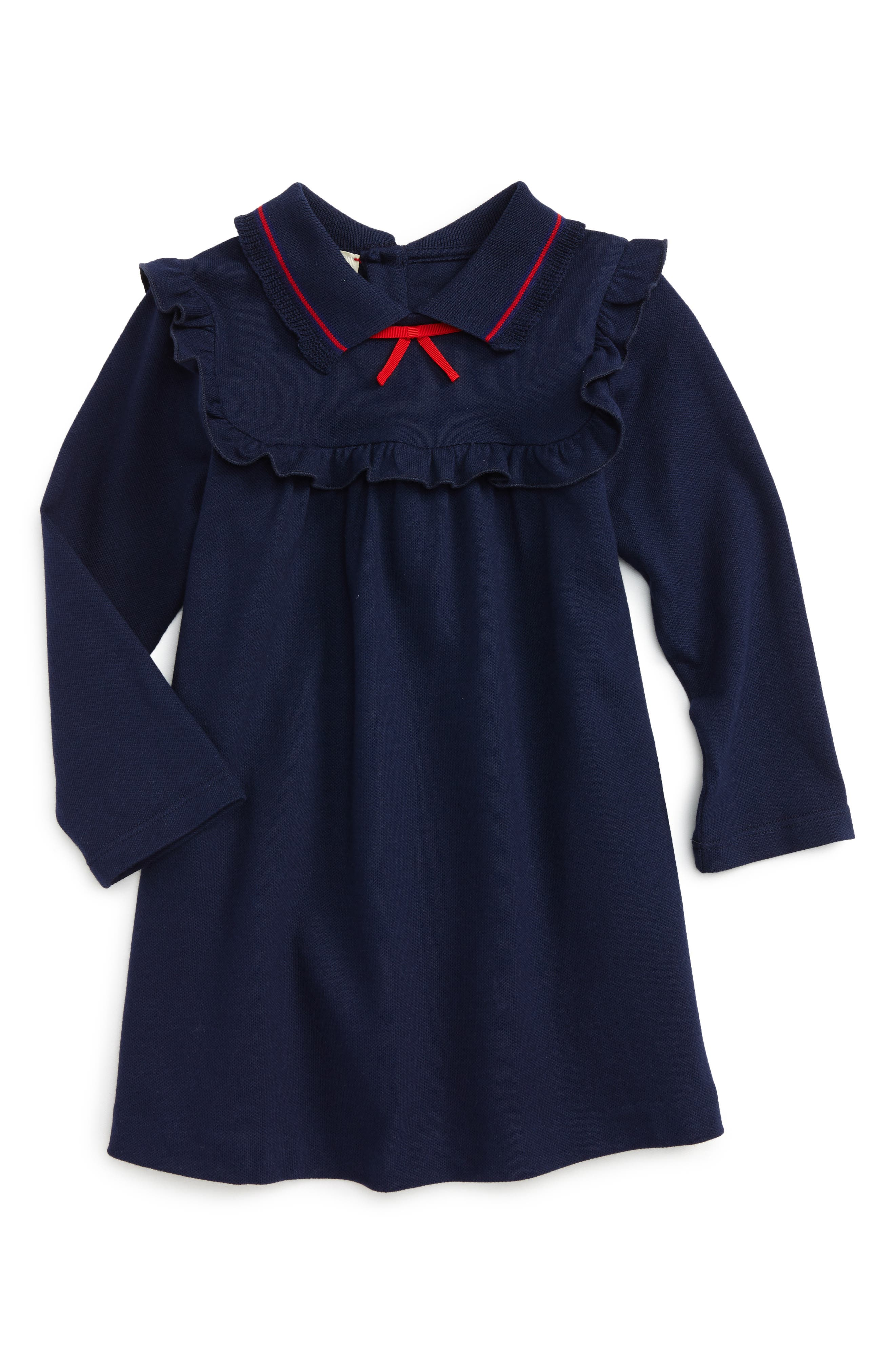 Gucci Ruffle Yoke Dress (Baby Girls)