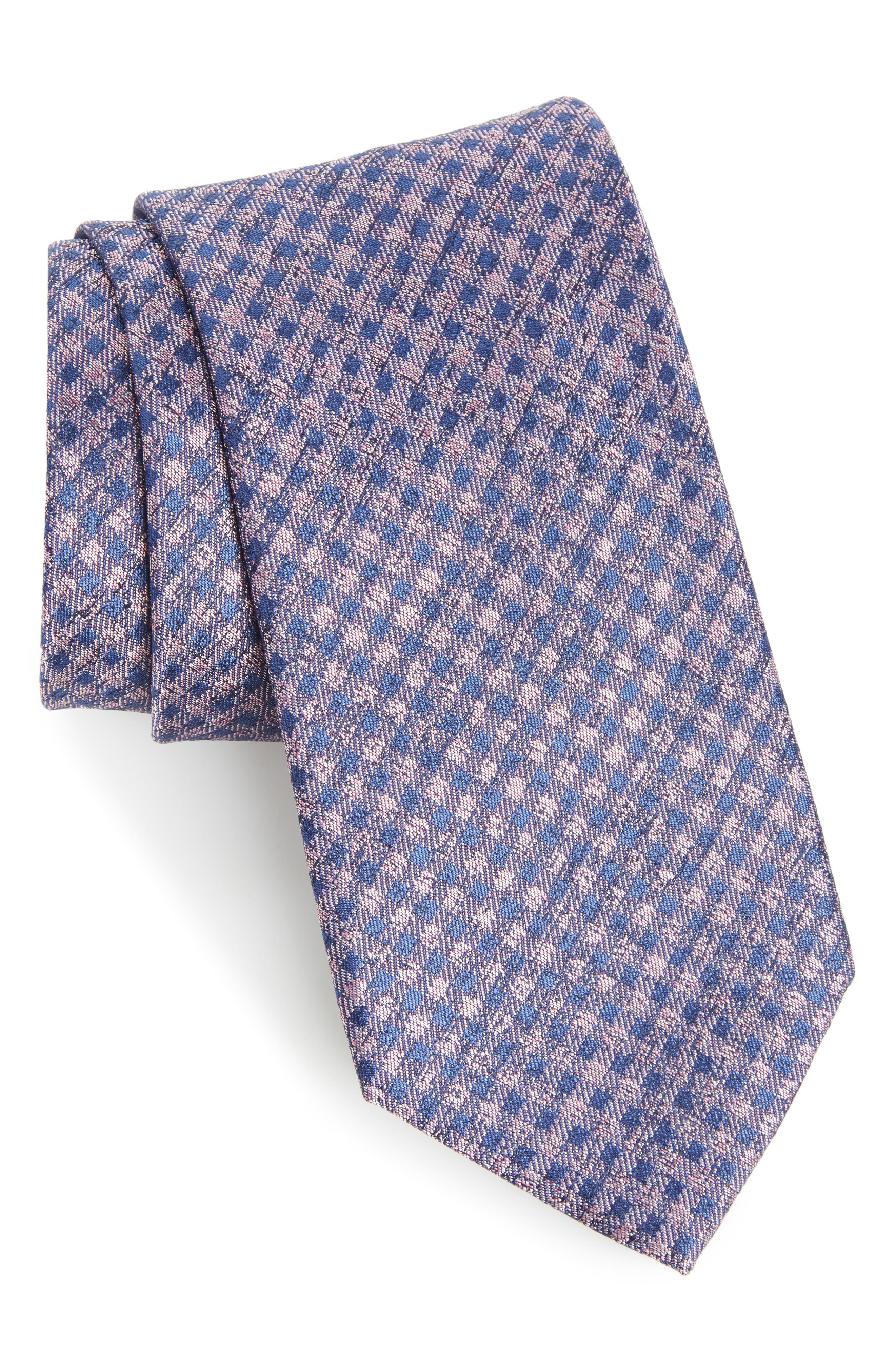 Calibrate Porter Check Silk Tie