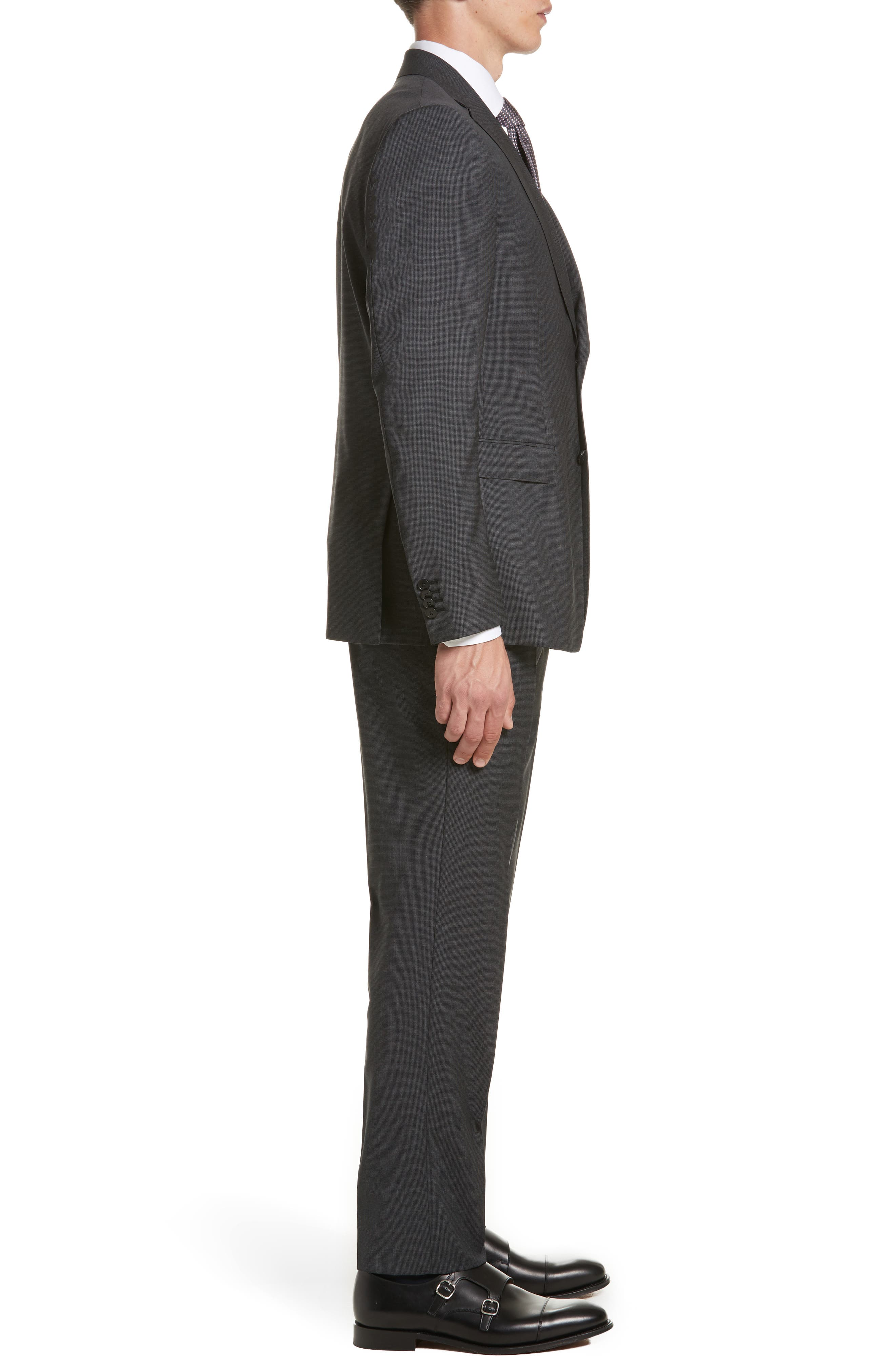 Alternate Image 3  - Z Zegna Classic Fit Solid Wool Suit
