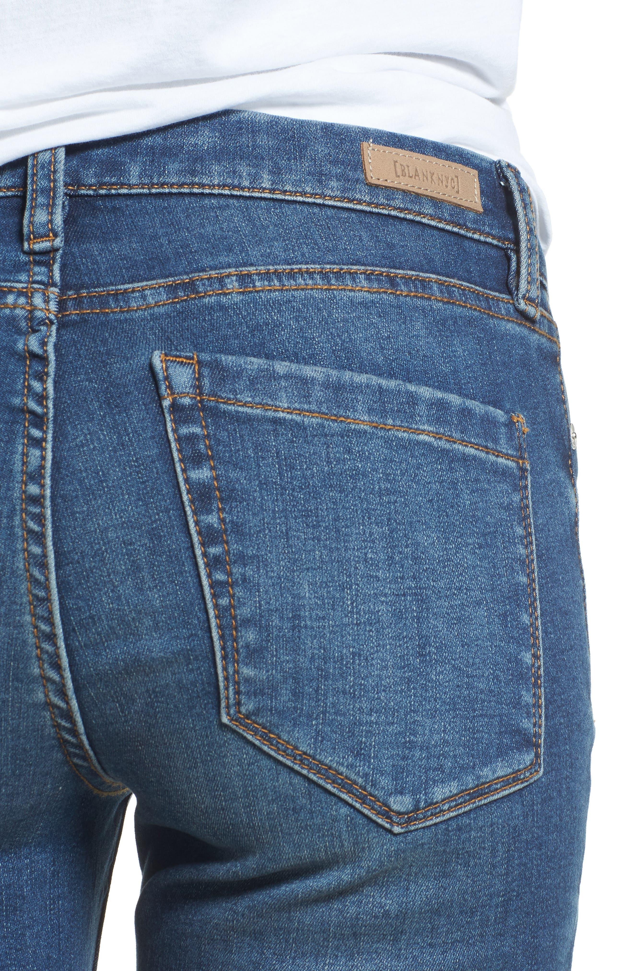 Alternate Image 4  - BLANKNYC Great Escape Skinny Jeans