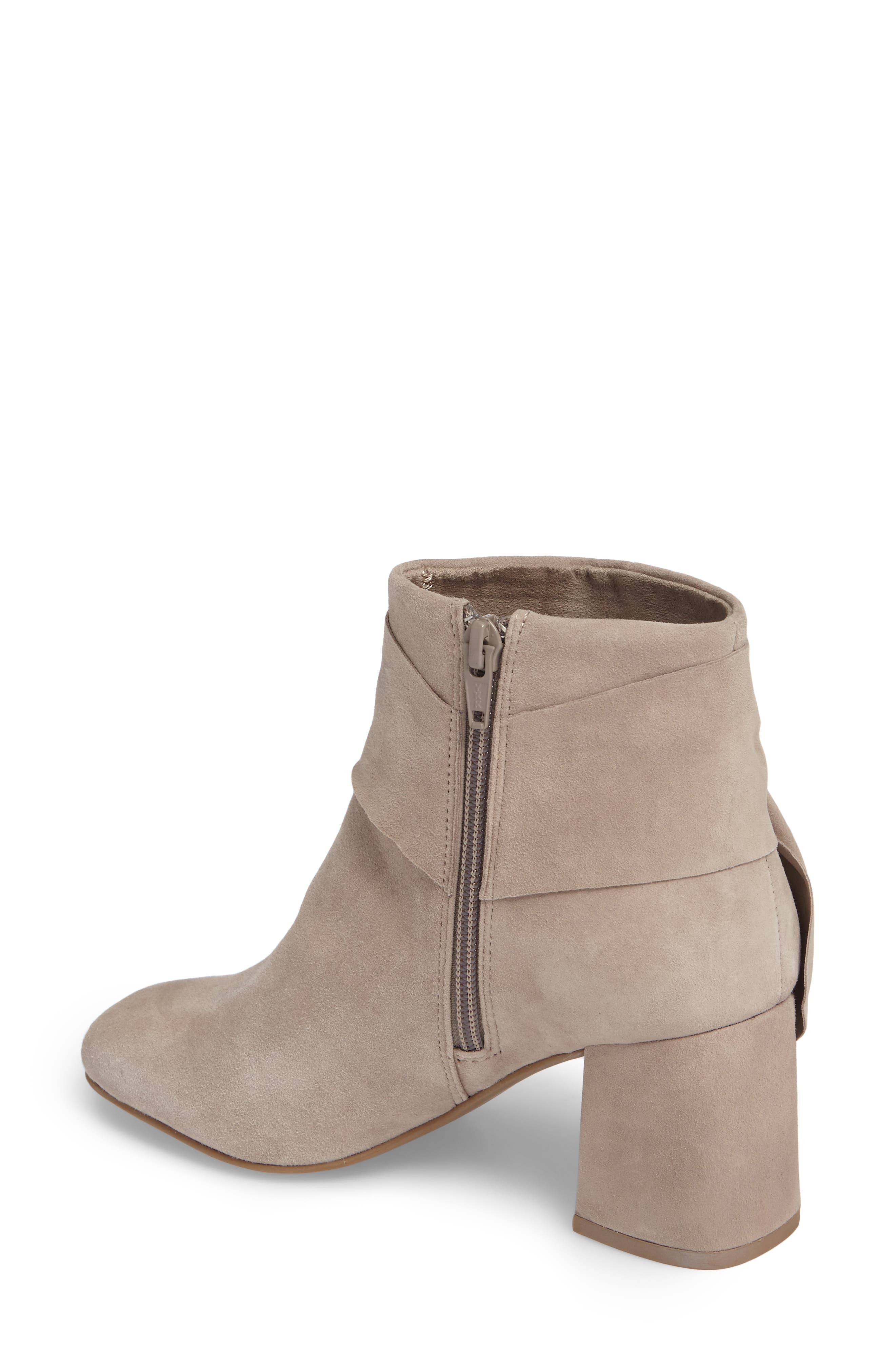Catwalk Bootie,                             Alternate thumbnail 2, color,                             Taupe Suede