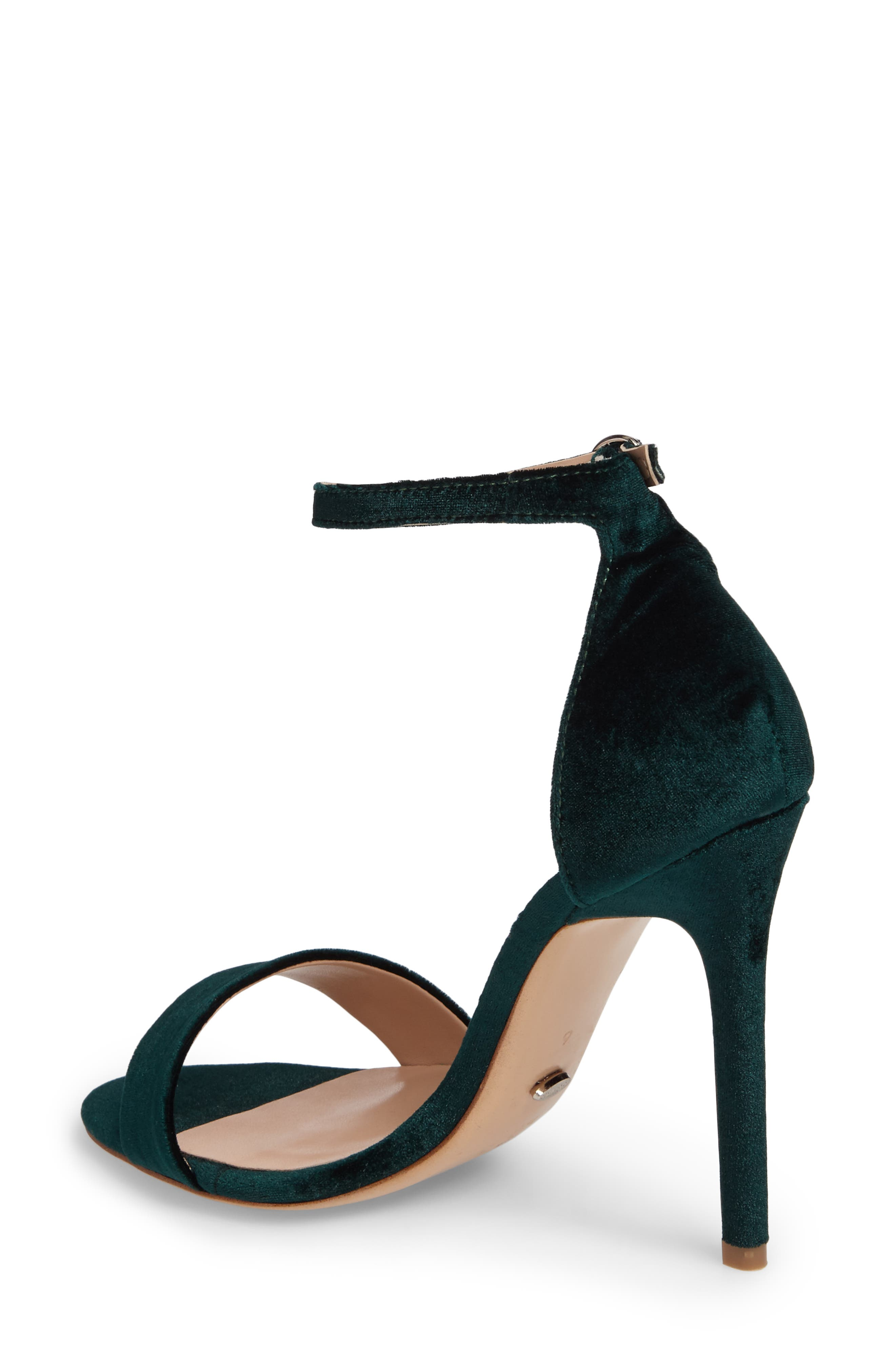 Karvan Ankle Strap Sandal,                             Alternate thumbnail 2, color,                             Forest Velvet