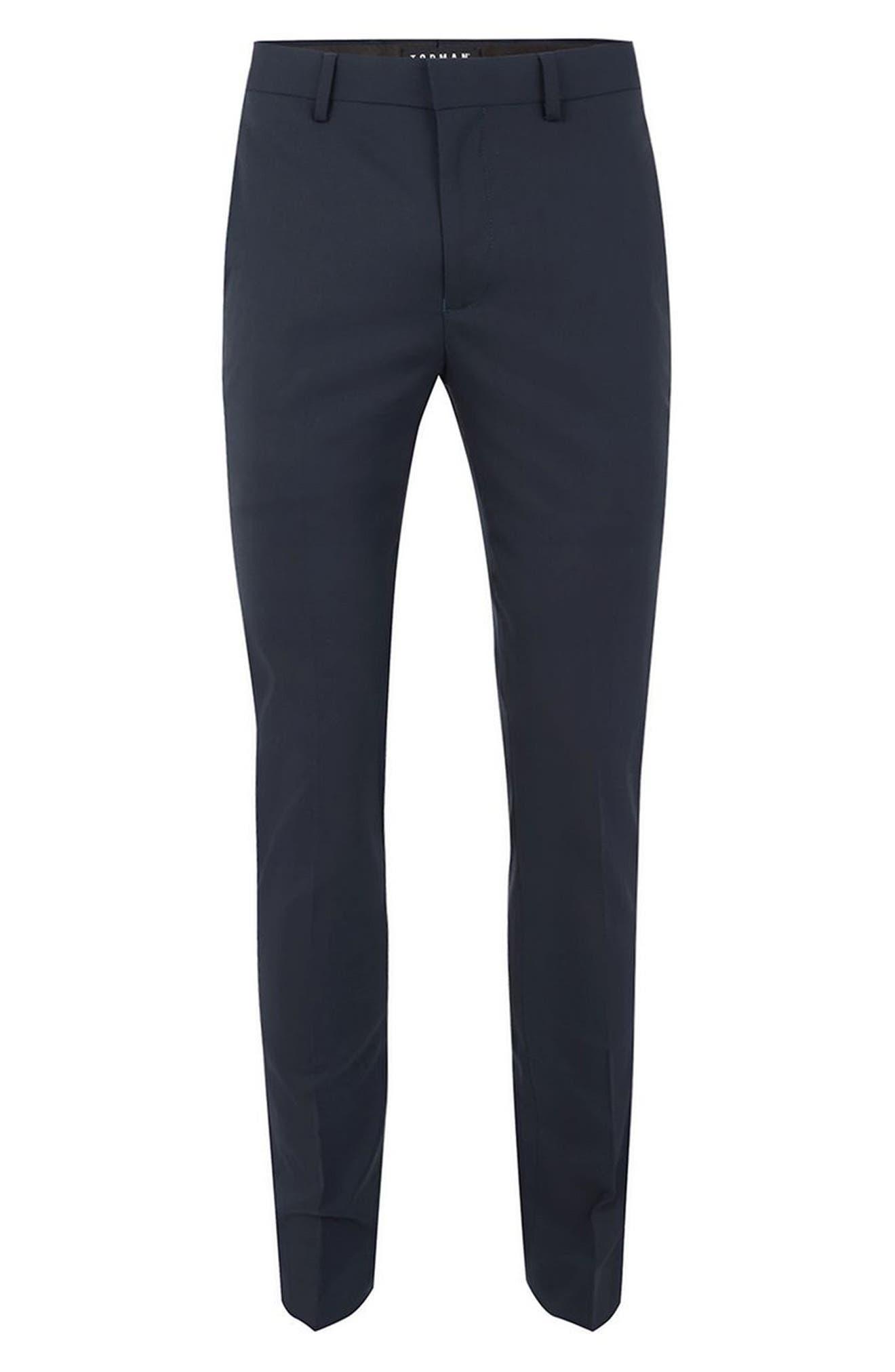 Alternate Image 4  - Topman Ultra Skinny Fit Trousers