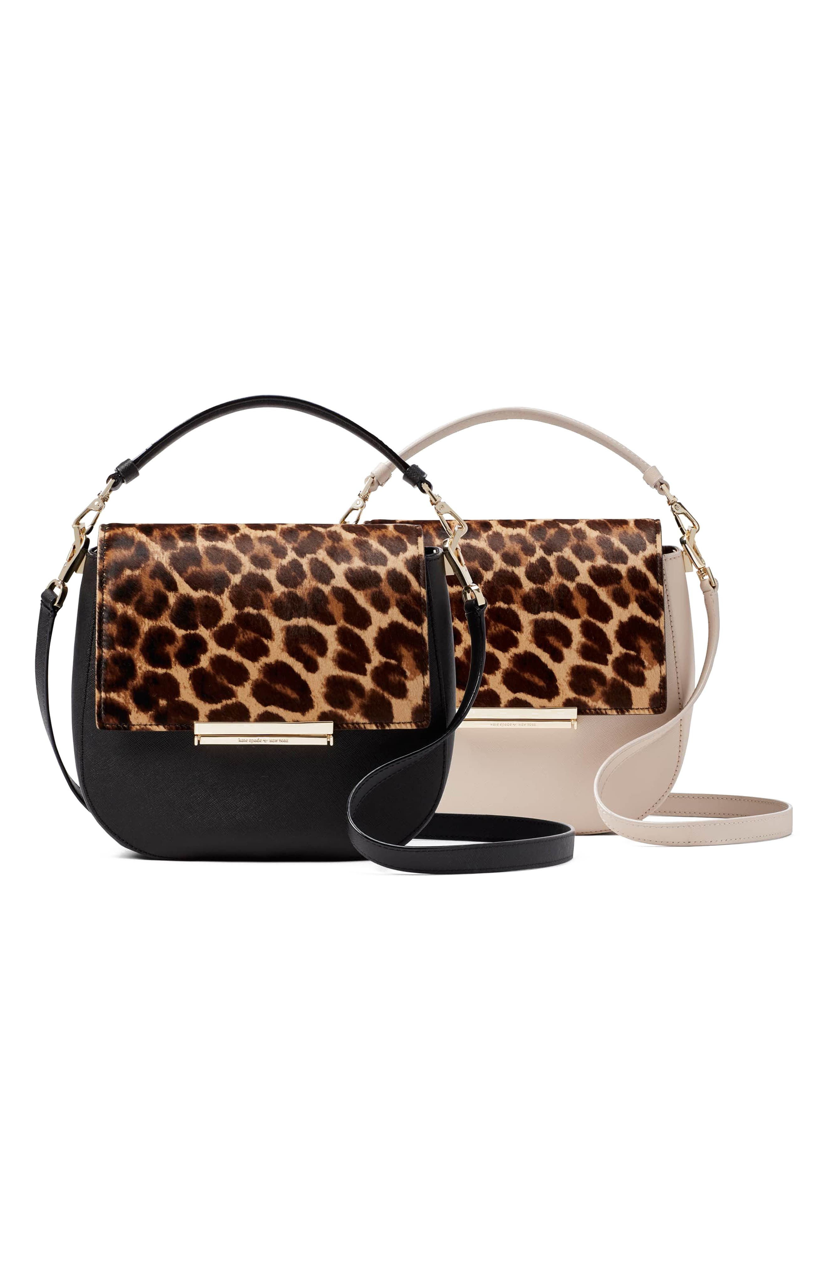 Alternate Image 7  - kate spade new york make it mine genuine calf hair snap-on accent flap