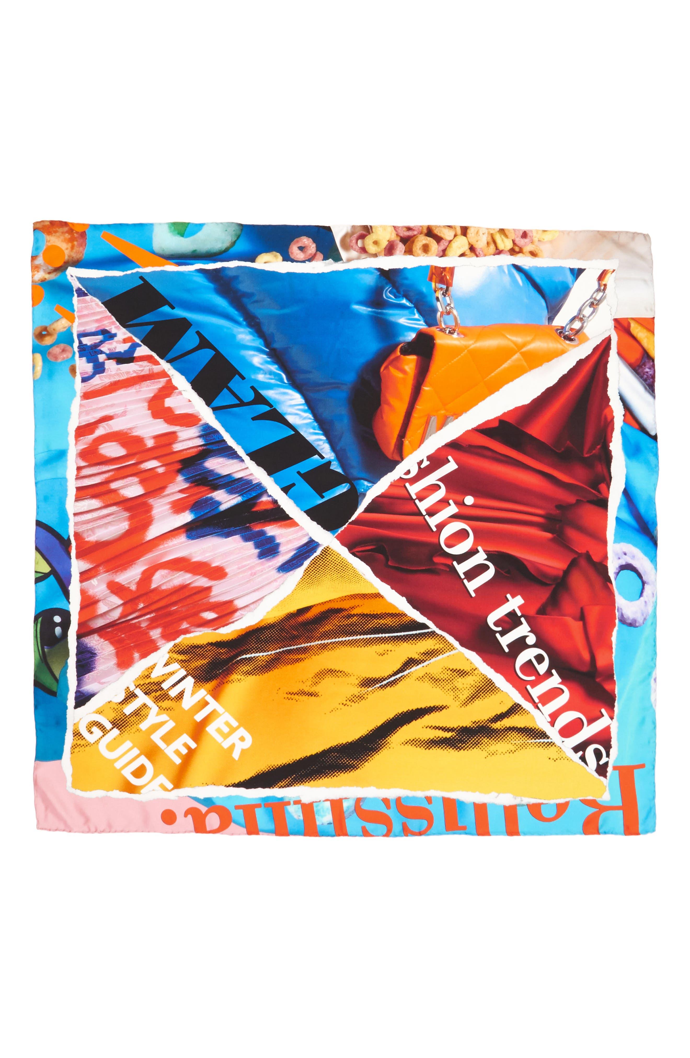Alternate Image 1 Selected - Moschino Silk Scarf