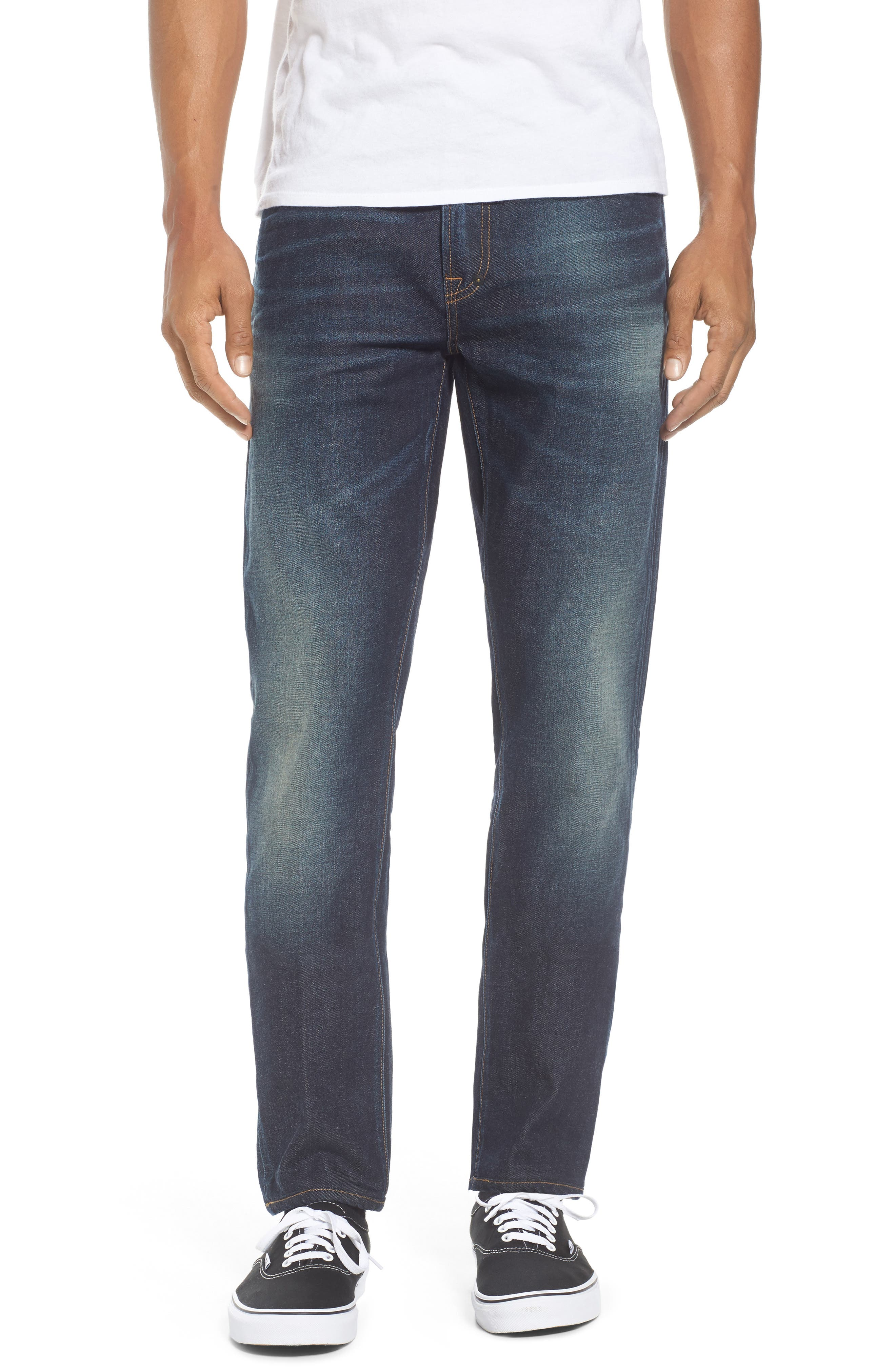 Windsor Slim Fit Jeans,                         Main,                         color, Medium