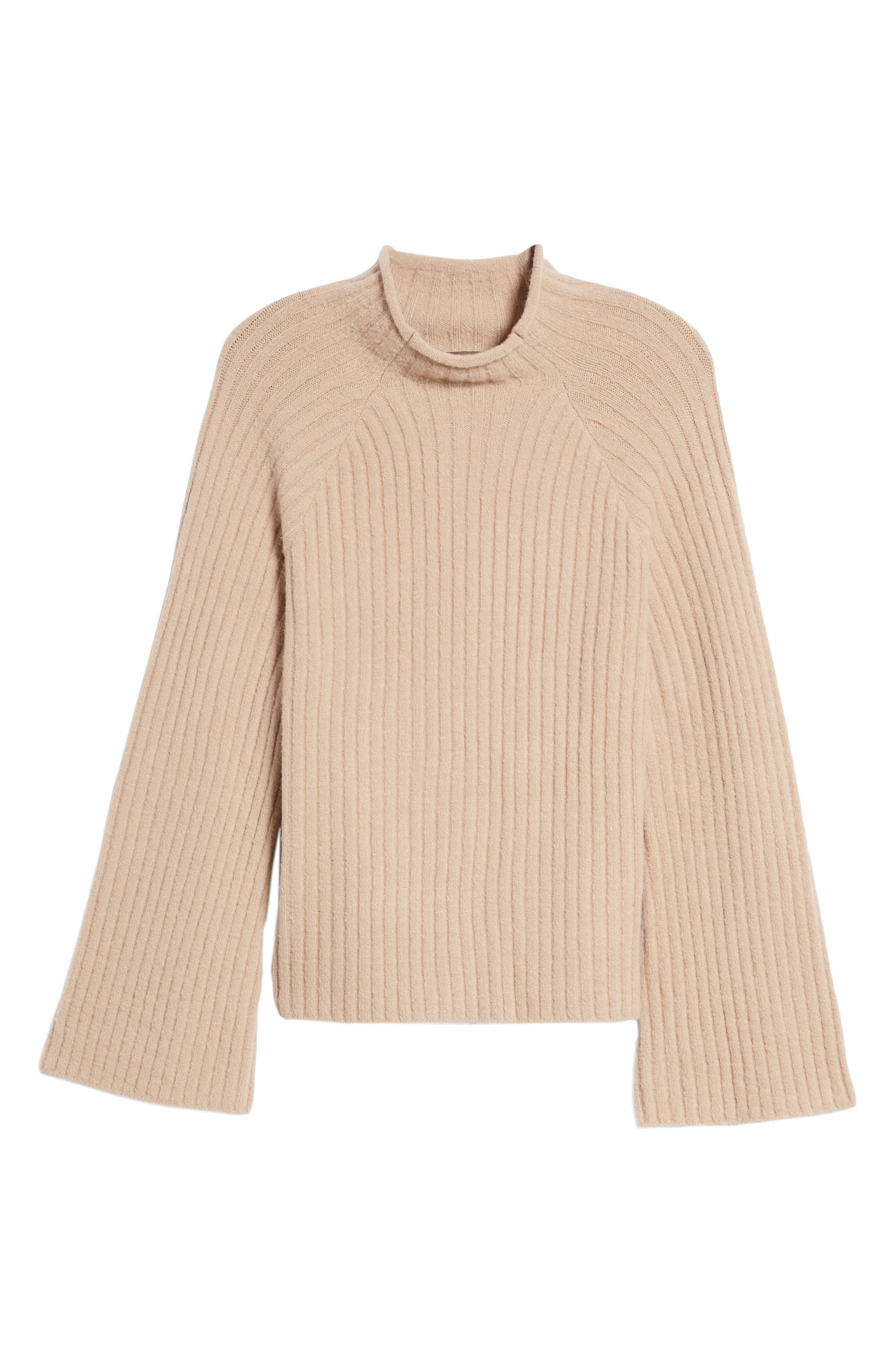 Alternate Image 6  - 4SI3NNA Bell Sleeve Sweater