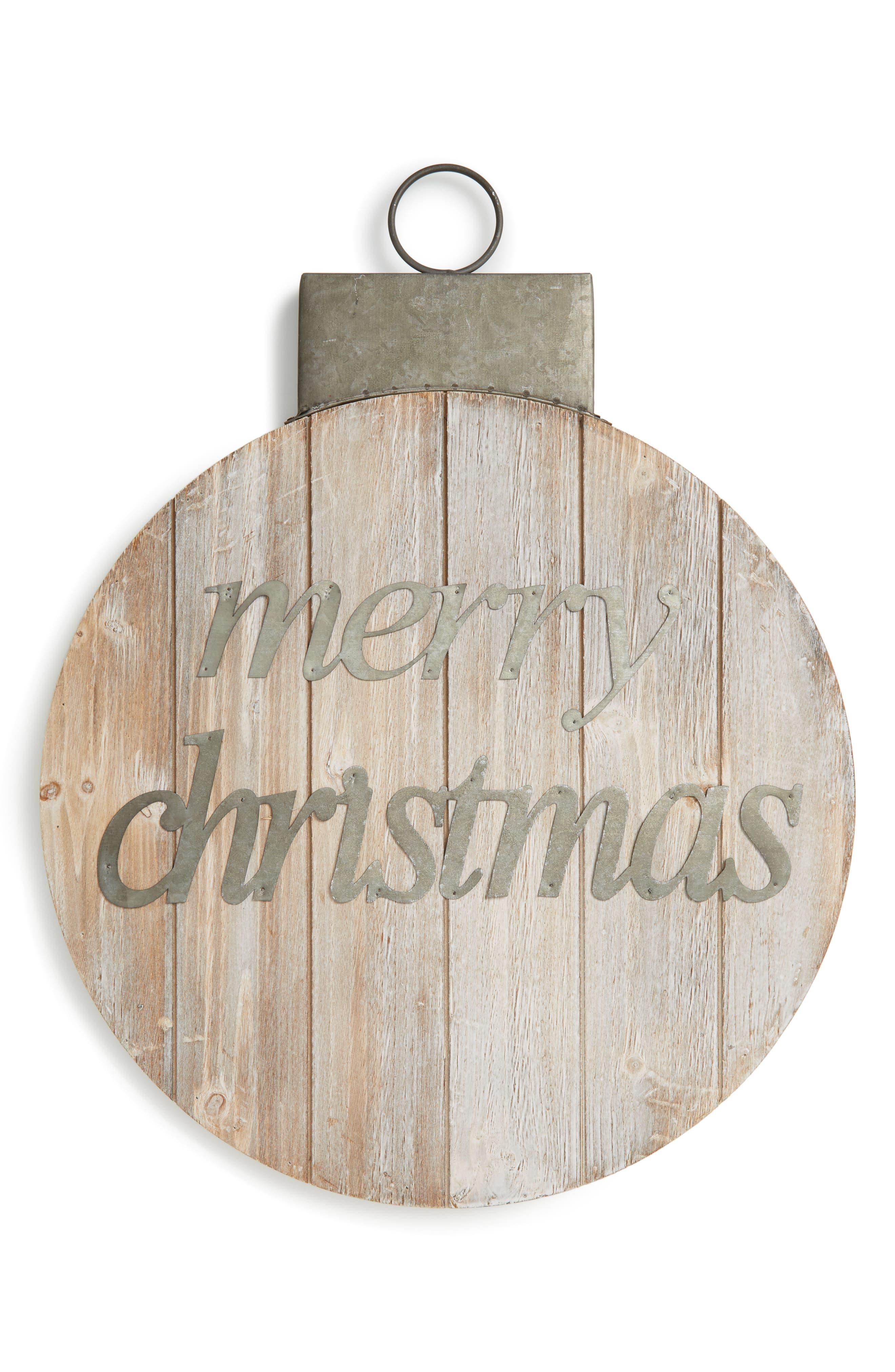 ALLSTATE Merry Christmas Wall Art