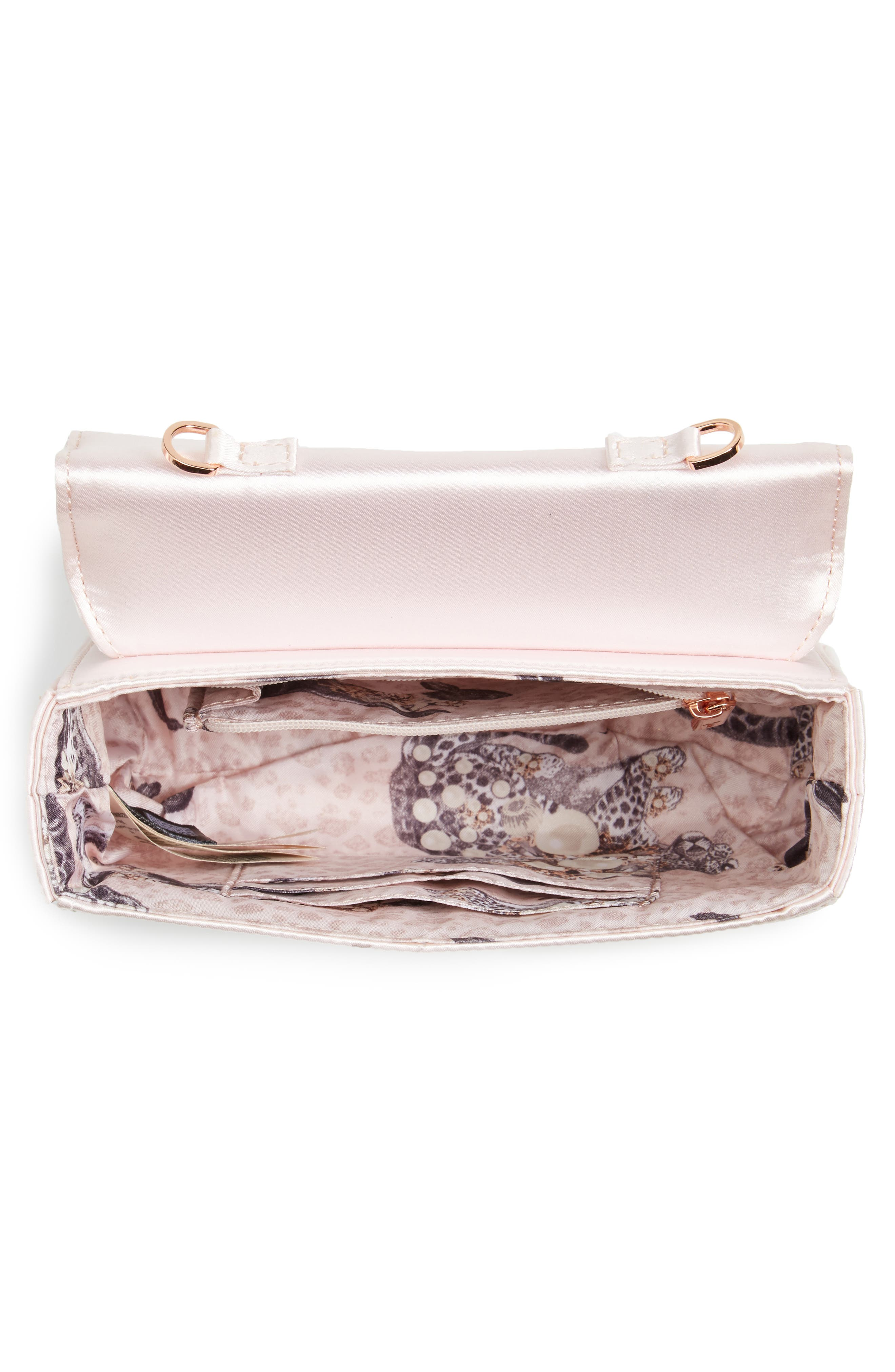 Alternate Image 3  - Ted Baker London Maxine Satin Clutch
