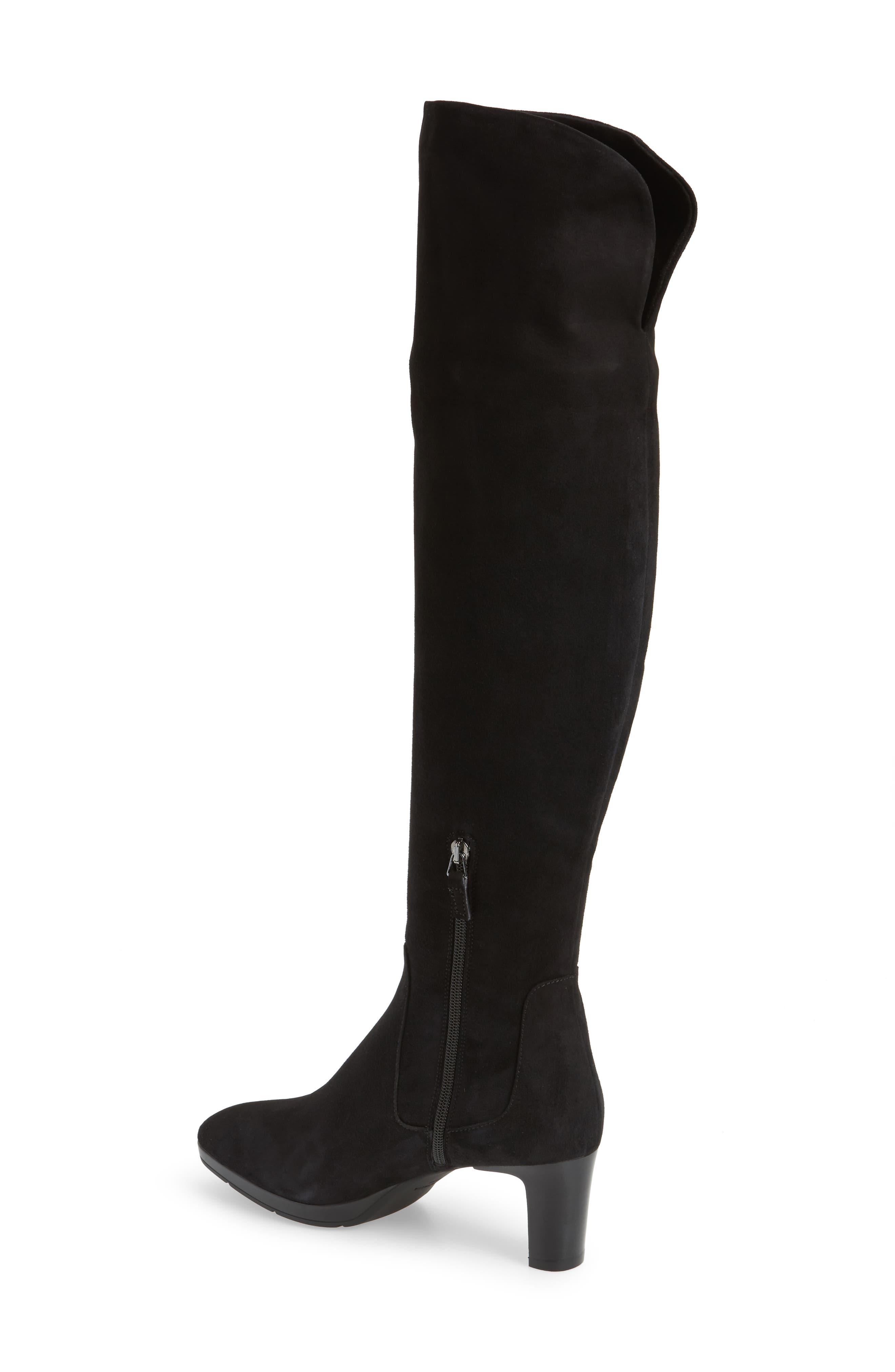 Alternate Image 2  - Aquatalia Danika Weatherproof Over-the-Knee Boot (Women)