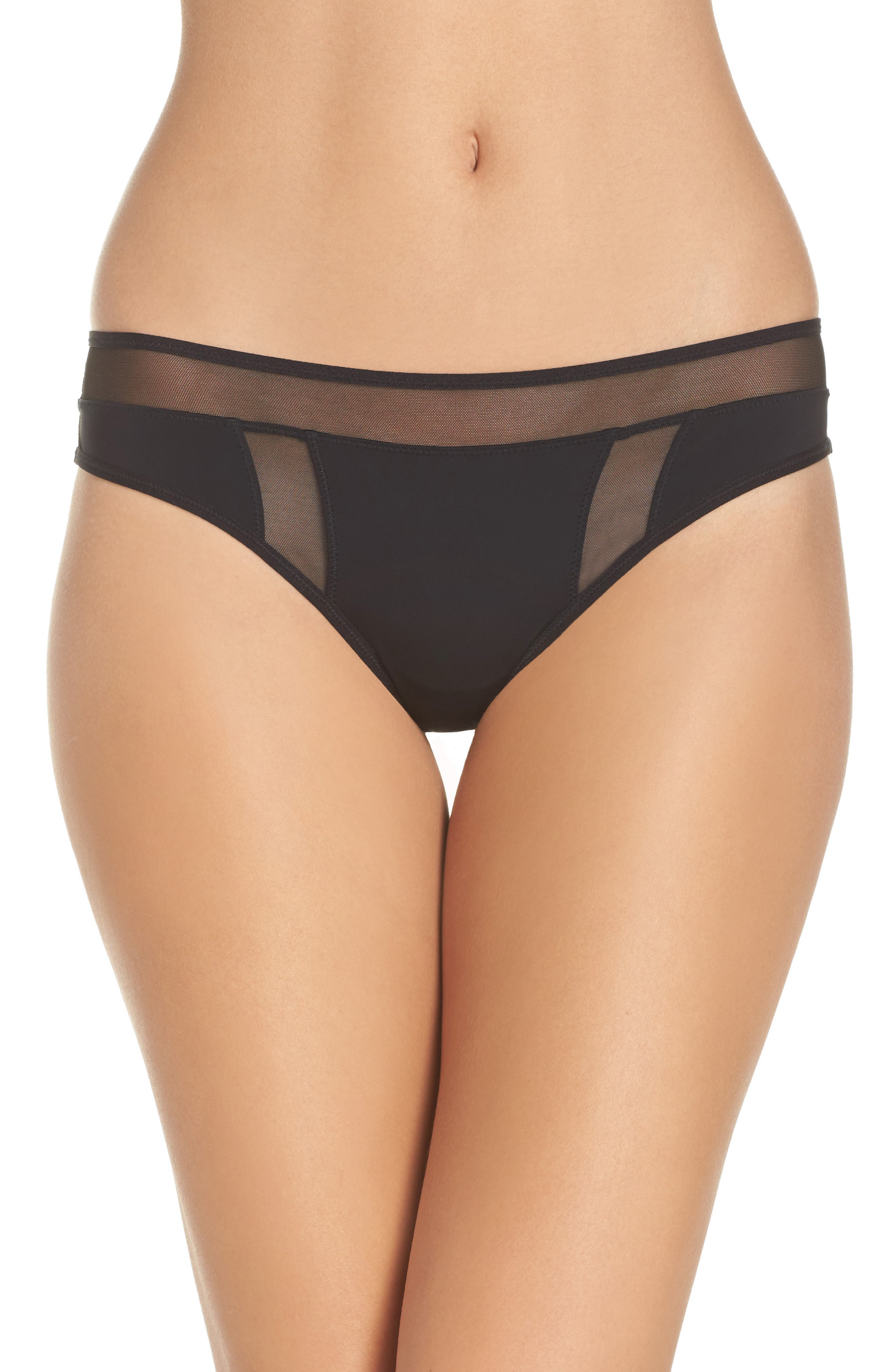 Addiction Nouvelle Lingerie Mesh Panel Tanga