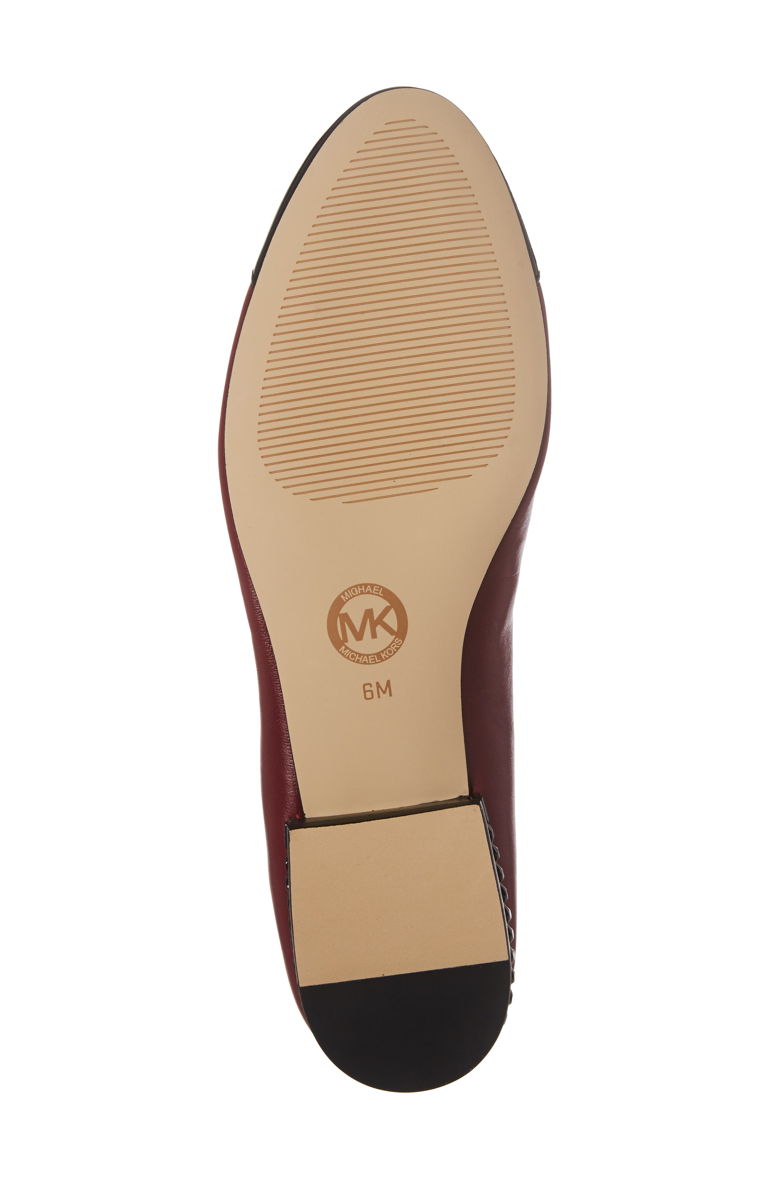 'Sabrina' Ballet Flat,                             Alternate thumbnail 5, color,                             Mulberry Patent Leather