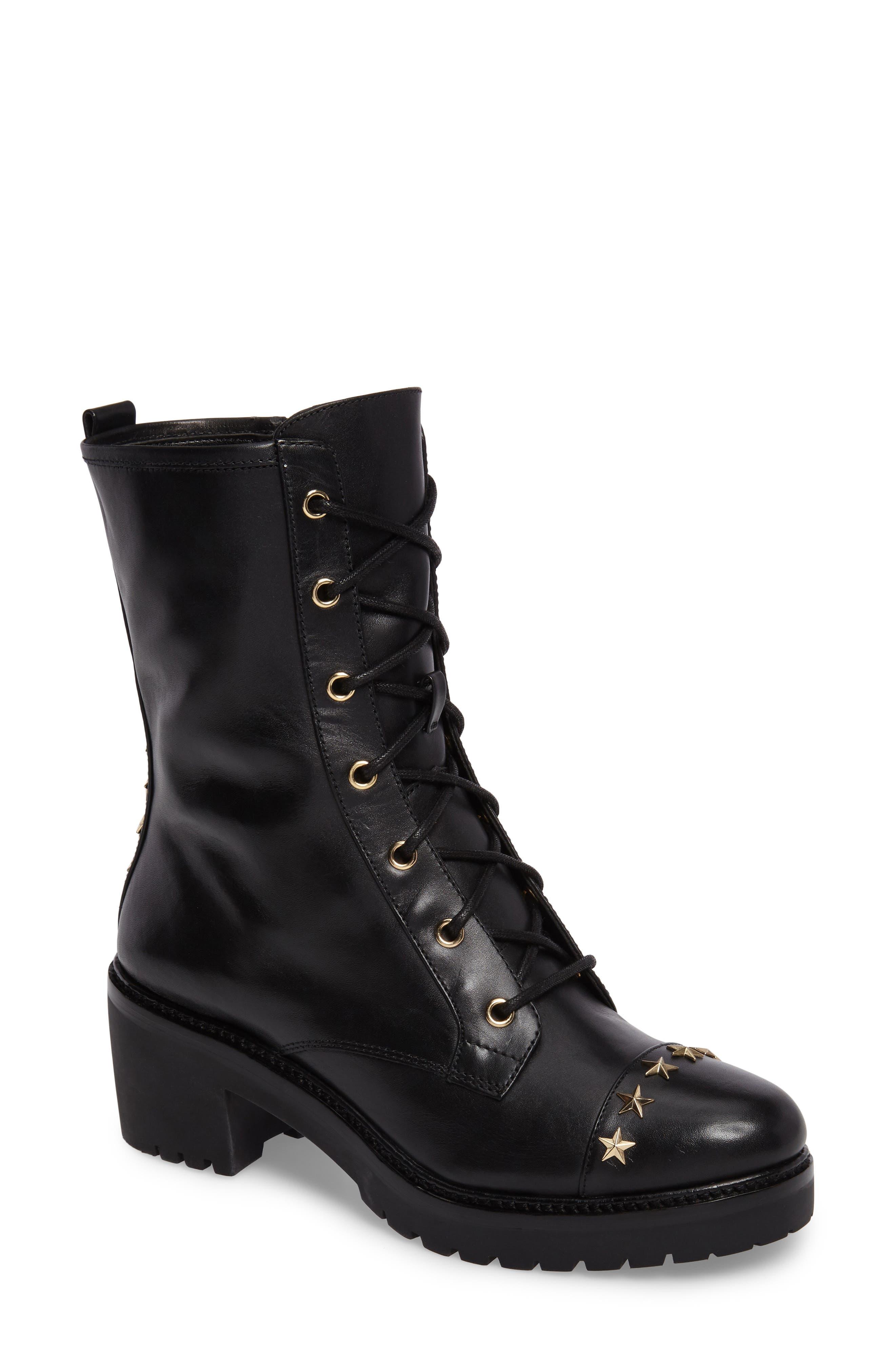Alternate Image 1 Selected - MICHAEL Michael Kors Cody Combat Boot (Women)