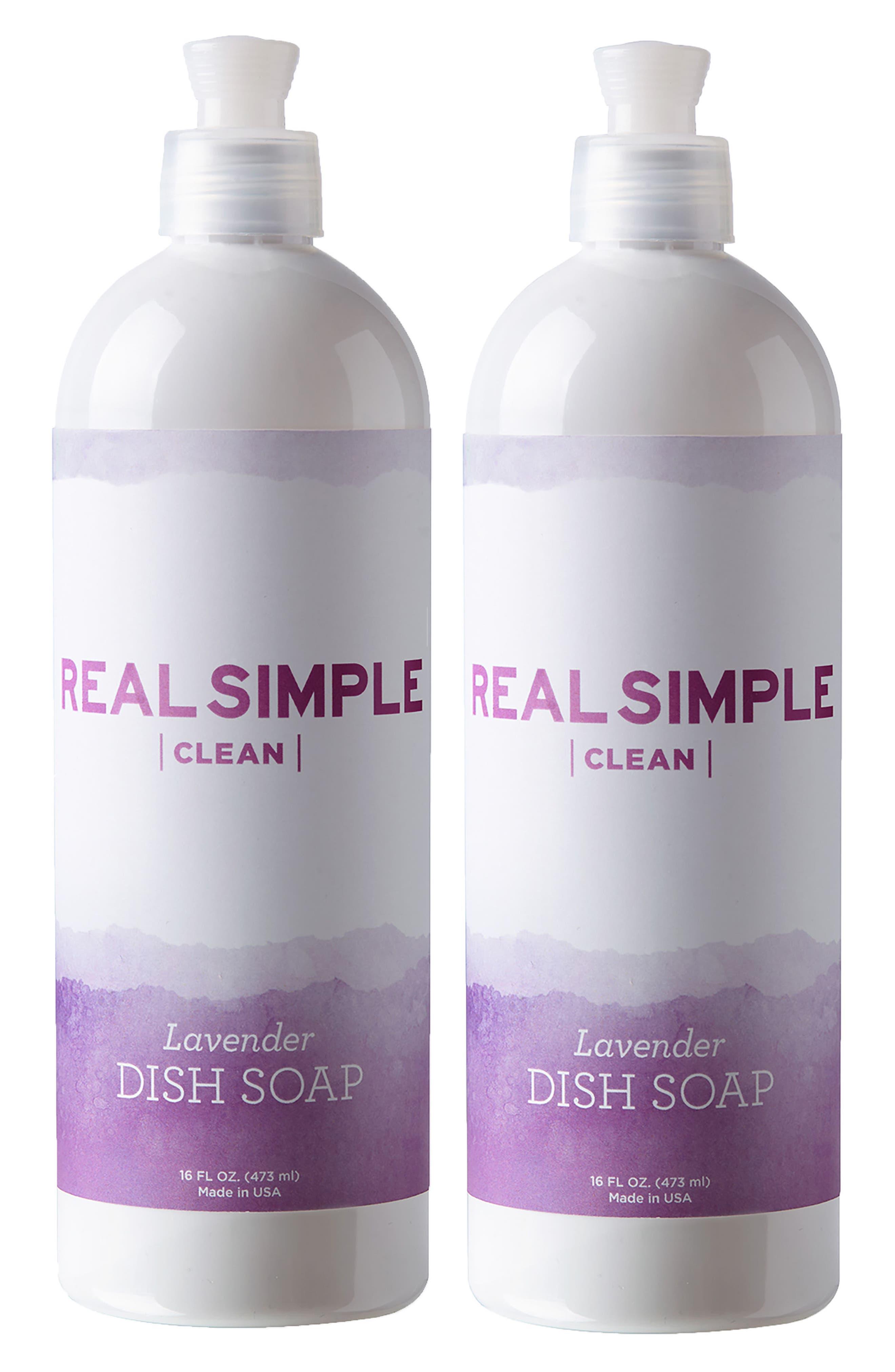 2-Pack Dish Soap,                             Main thumbnail 1, color,                             Lavender