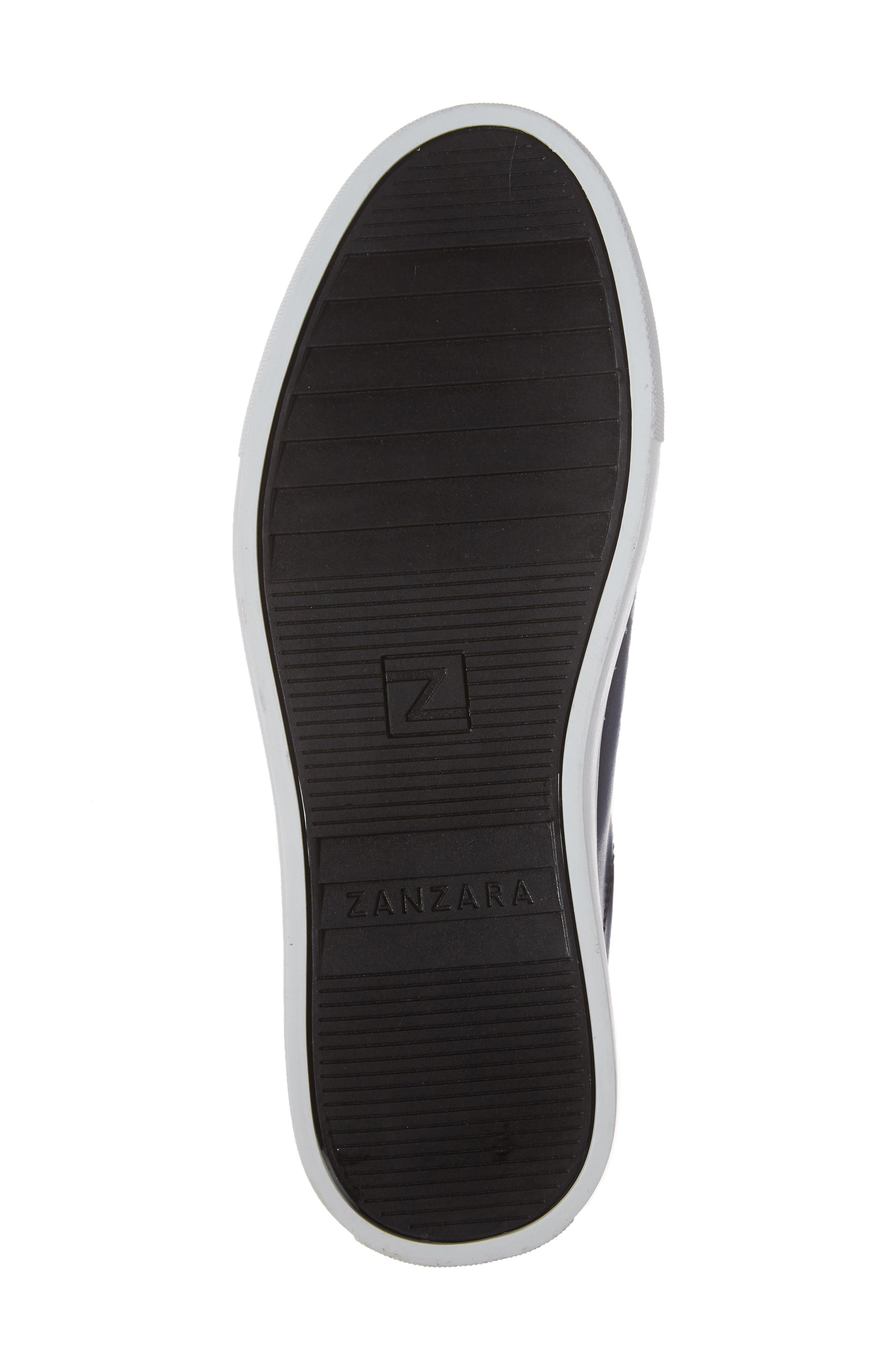 Penrose Sneaker,                             Alternate thumbnail 6, color,                             Blue Leather