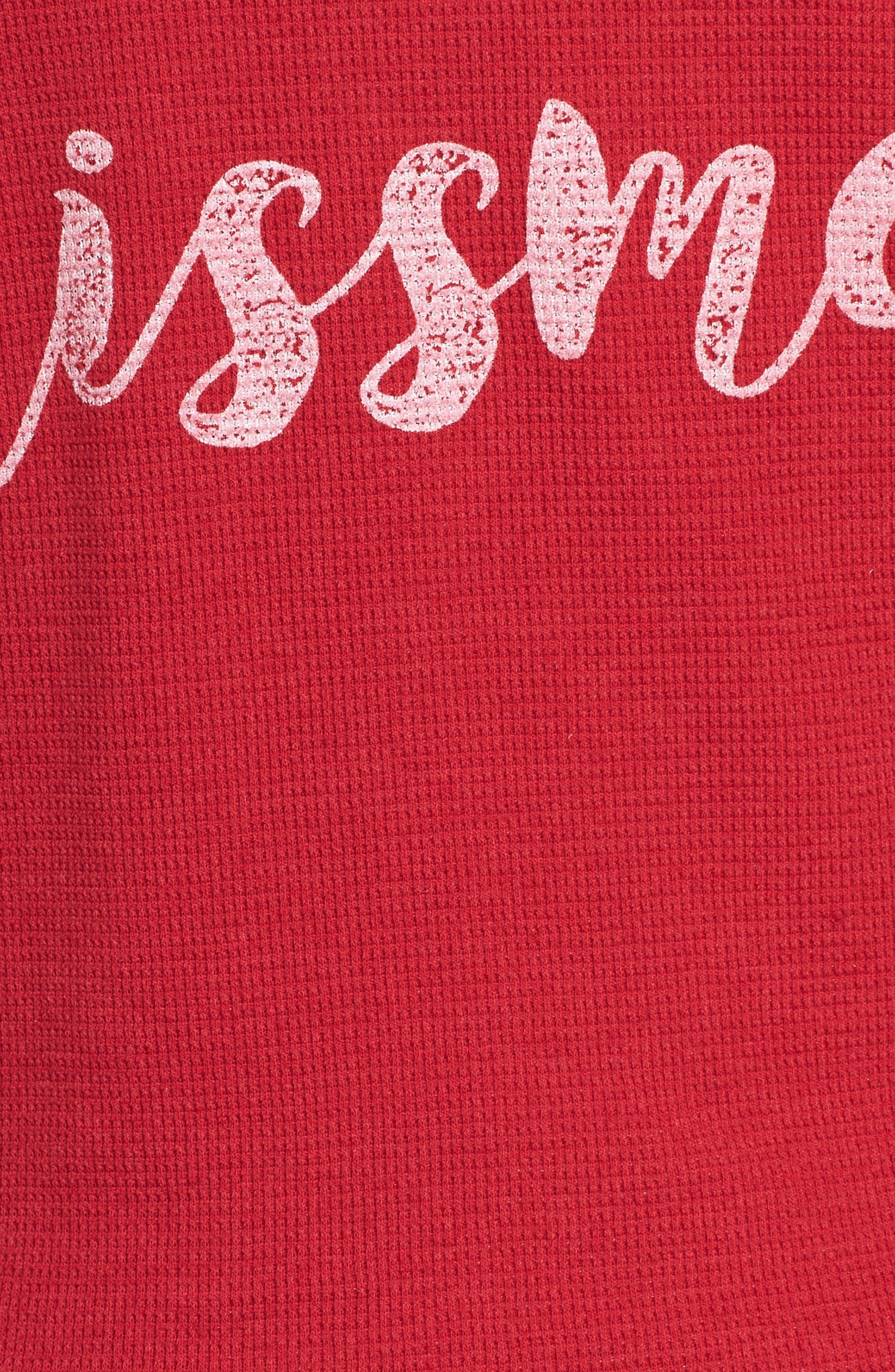 Short Pajamas,                             Alternate thumbnail 6, color,                             Brick