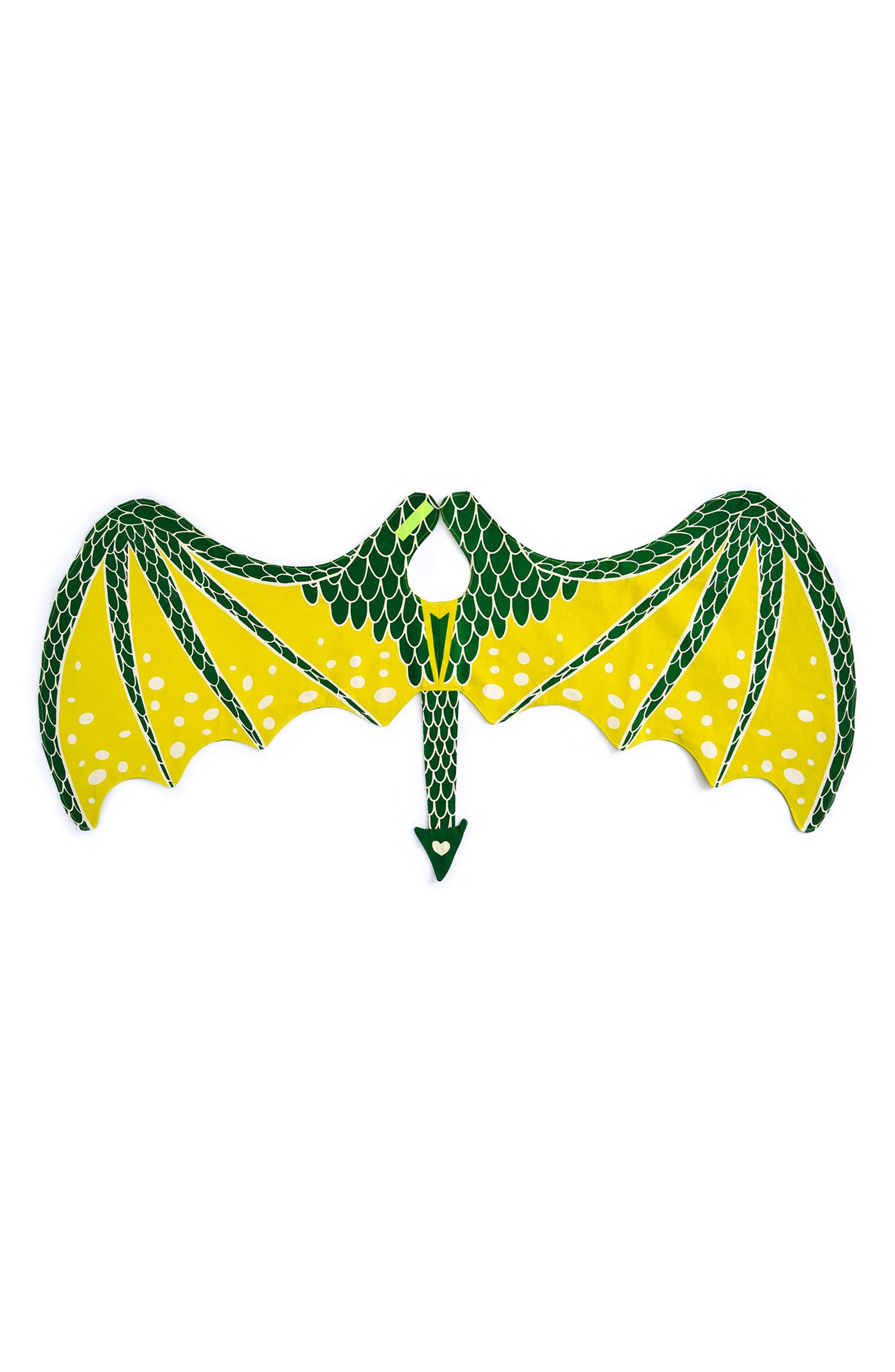 Dragon Wings,                             Main thumbnail 1, color,                             Green