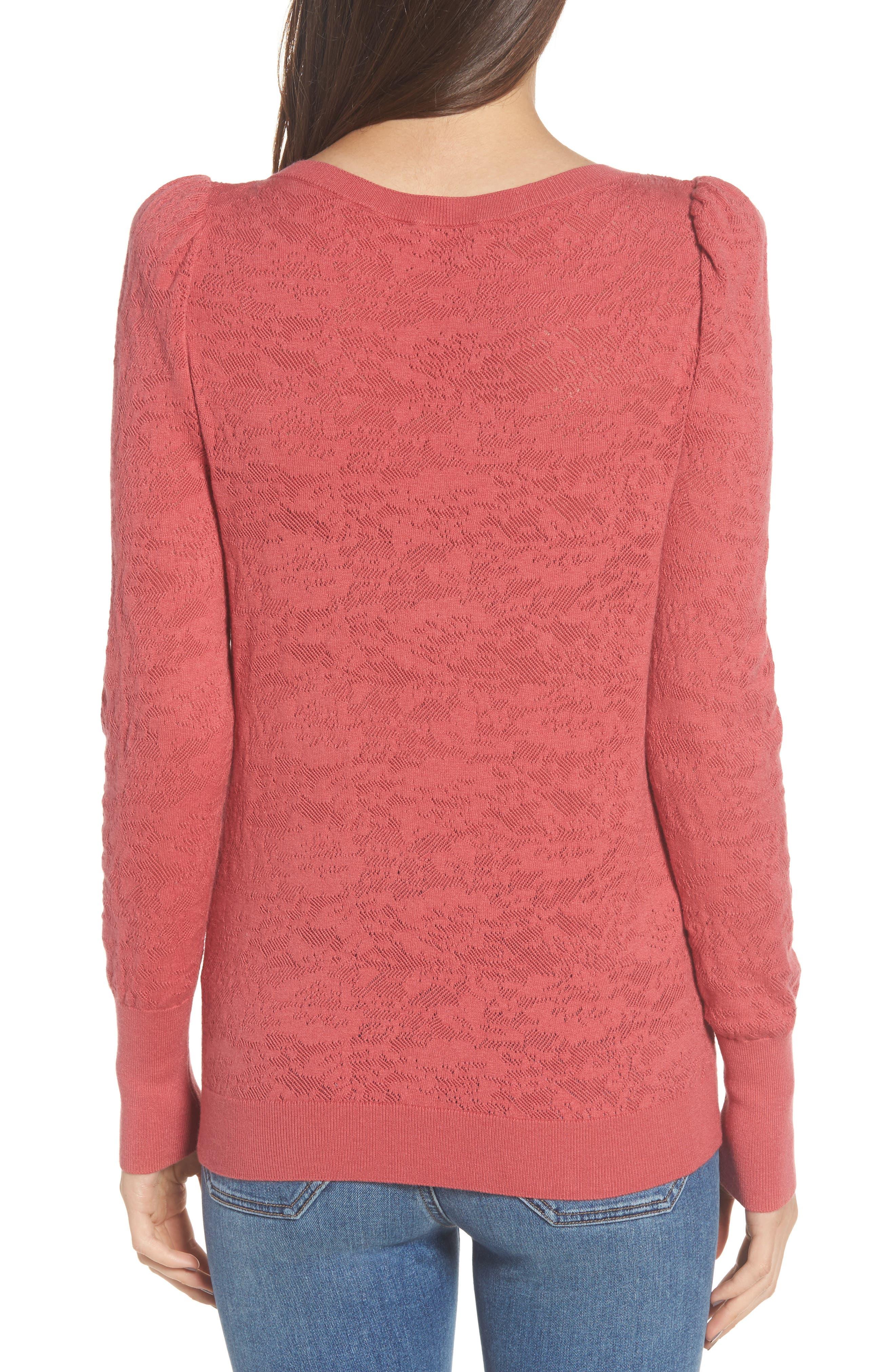 Alternate Image 2  - Hinge Puff Sleeve Pullover